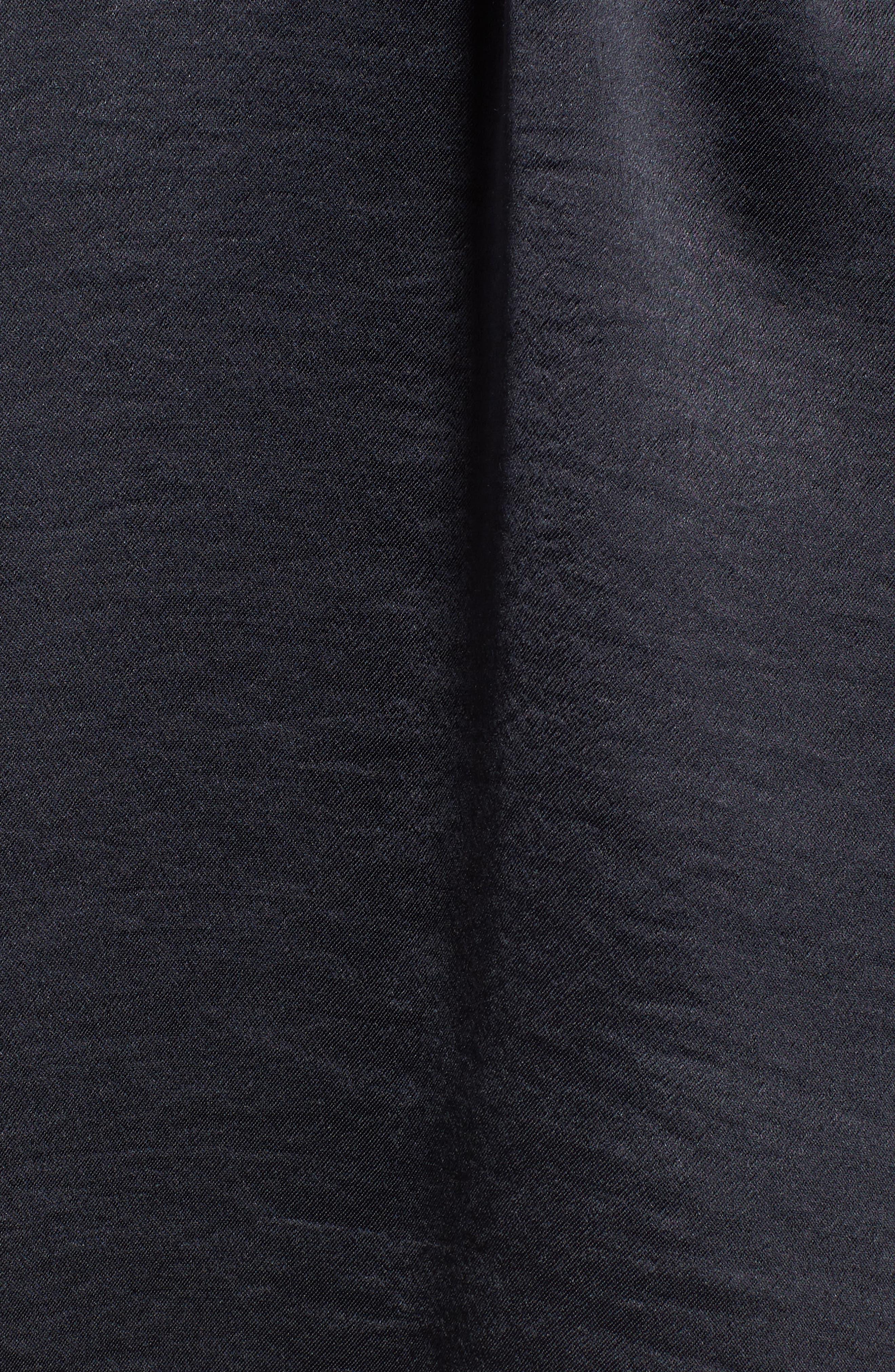 x Something Navy Bell Sleeve Minidress,                             Alternate thumbnail 7, color,                             Grey Phantom