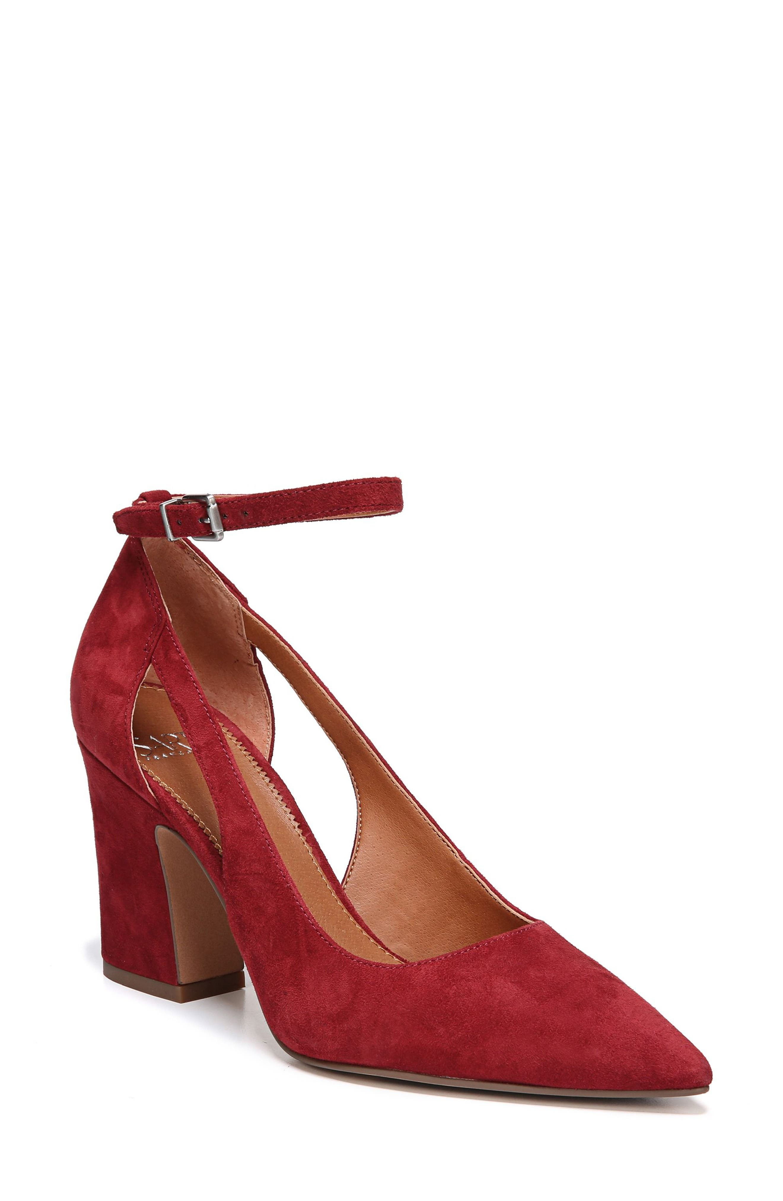 Kalindi Pump,                             Main thumbnail 1, color,                             Syrah Suede