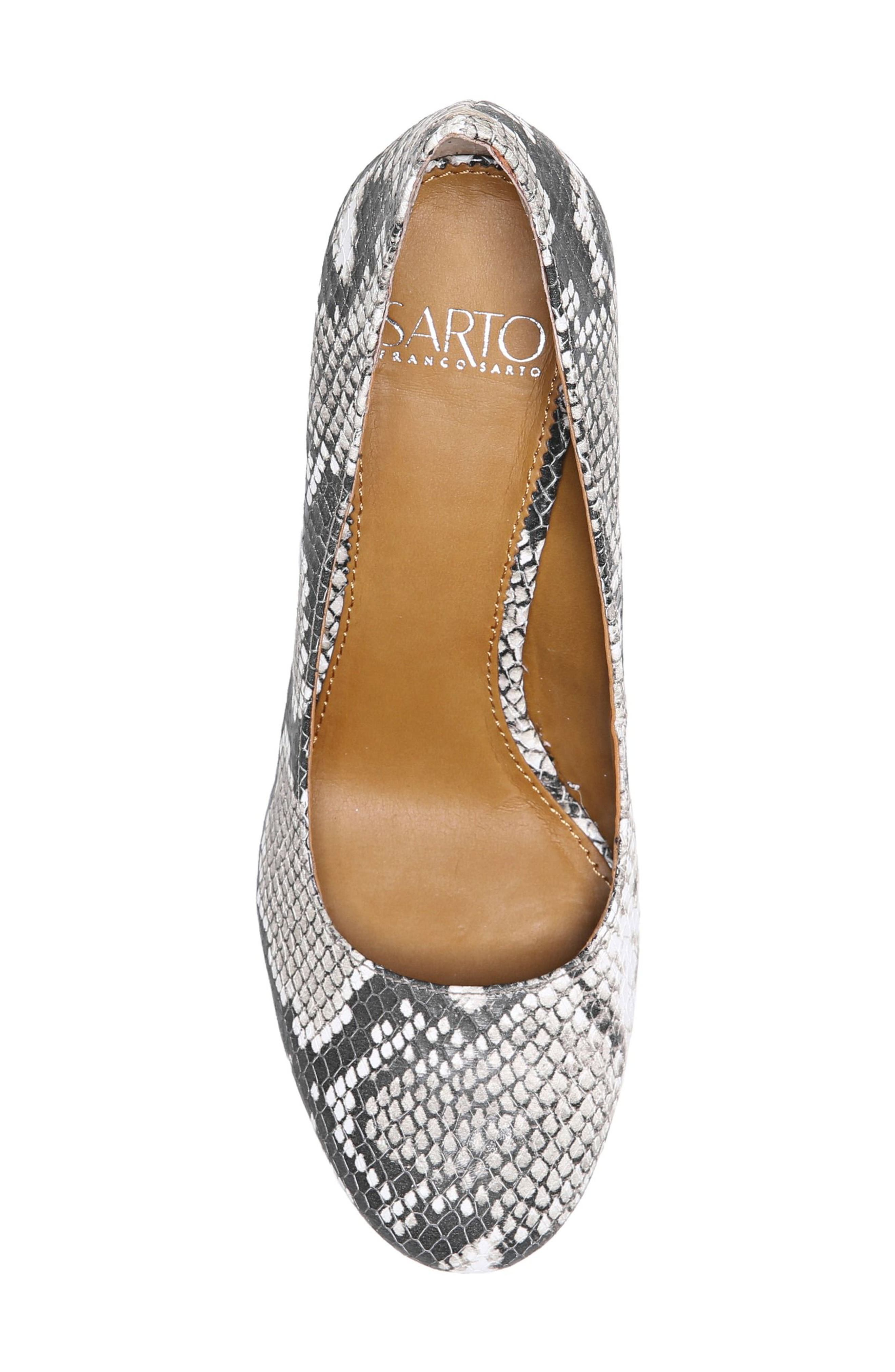 Alternate Image 5  - SARTO by Franco Sarto Aziza Block Heel Pump (Women)