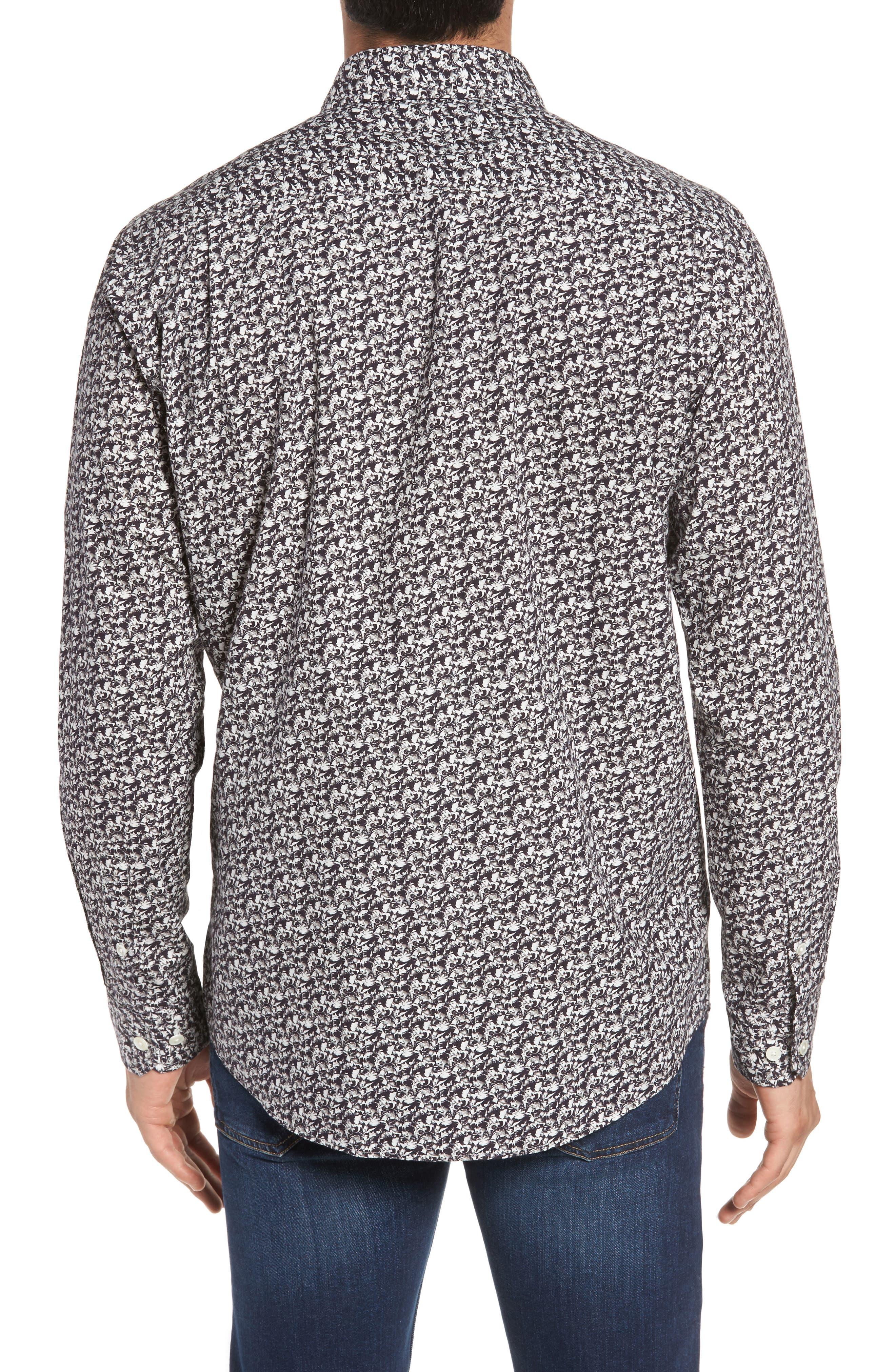Alternate Image 2  - Rodd & Gunn Bucklands Beach Print Sport Shirt