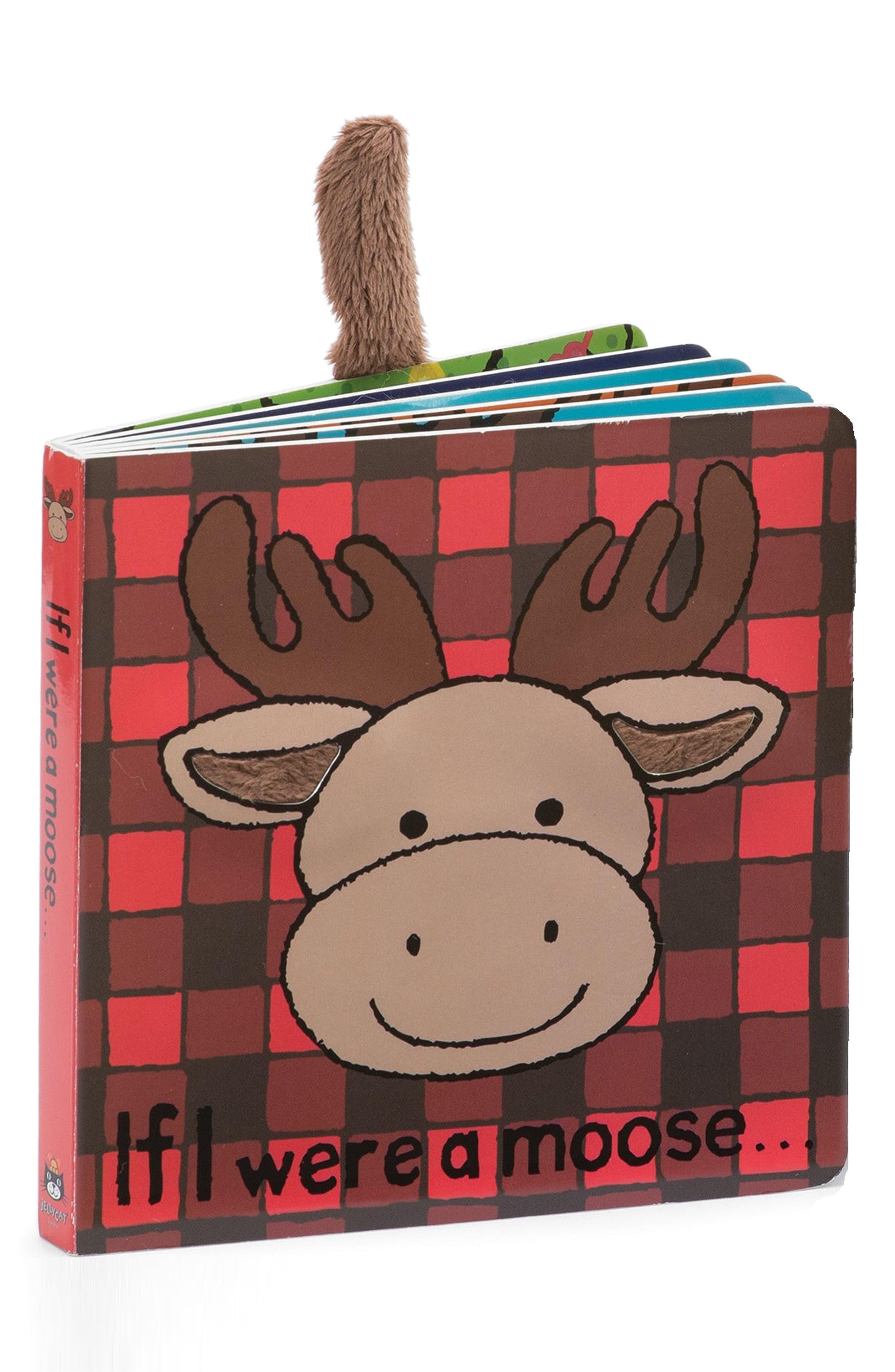 If I Were A Moose' Board Book,                         Main,                         color, Multi