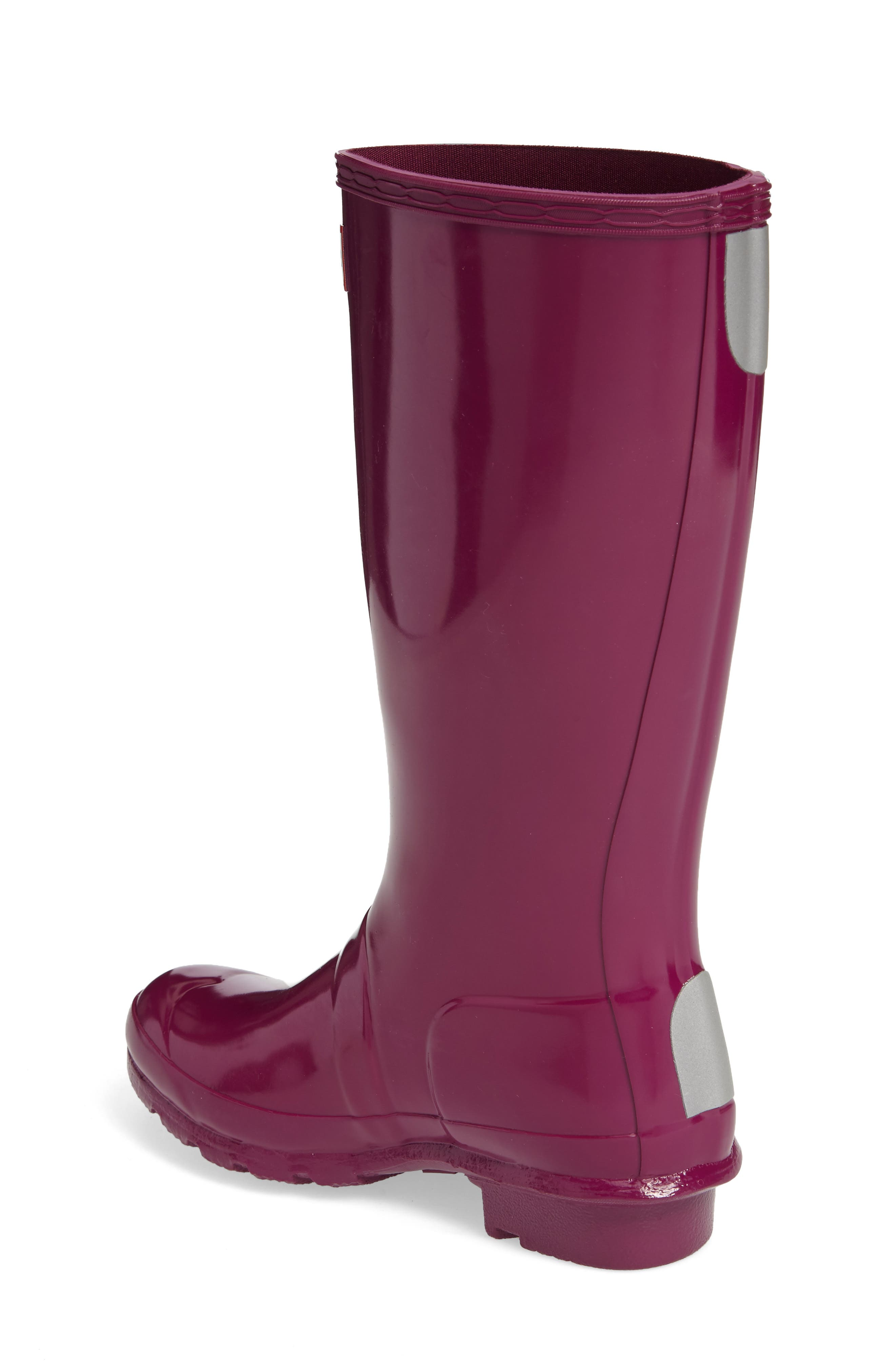 Alternate Image 2  - Hunter 'Original Gloss' Rain Boot (Little Kid & Big Kid)