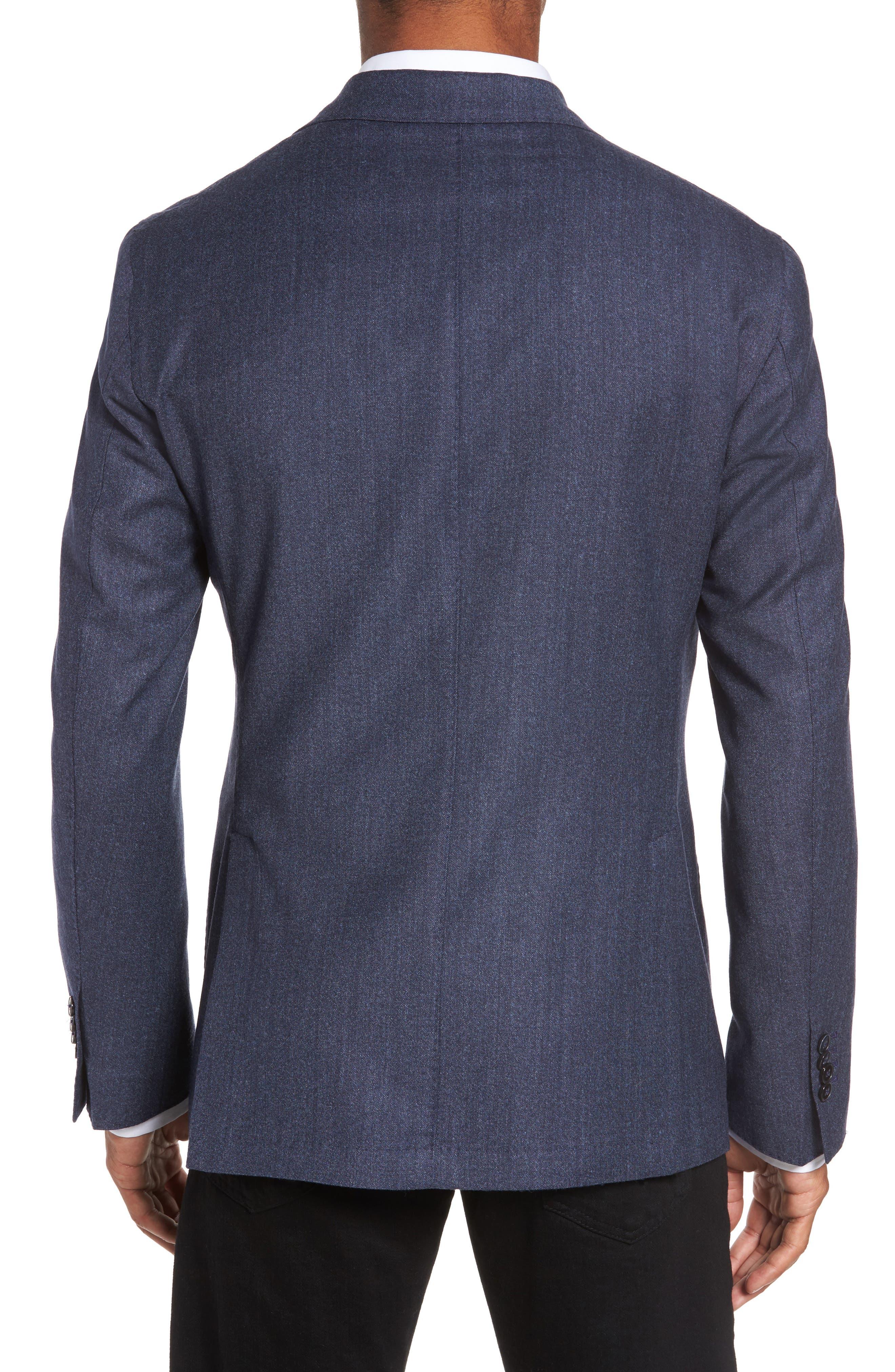 Alternate Image 2  - L.B.M. 1911 Classic Fit Wool Blazer