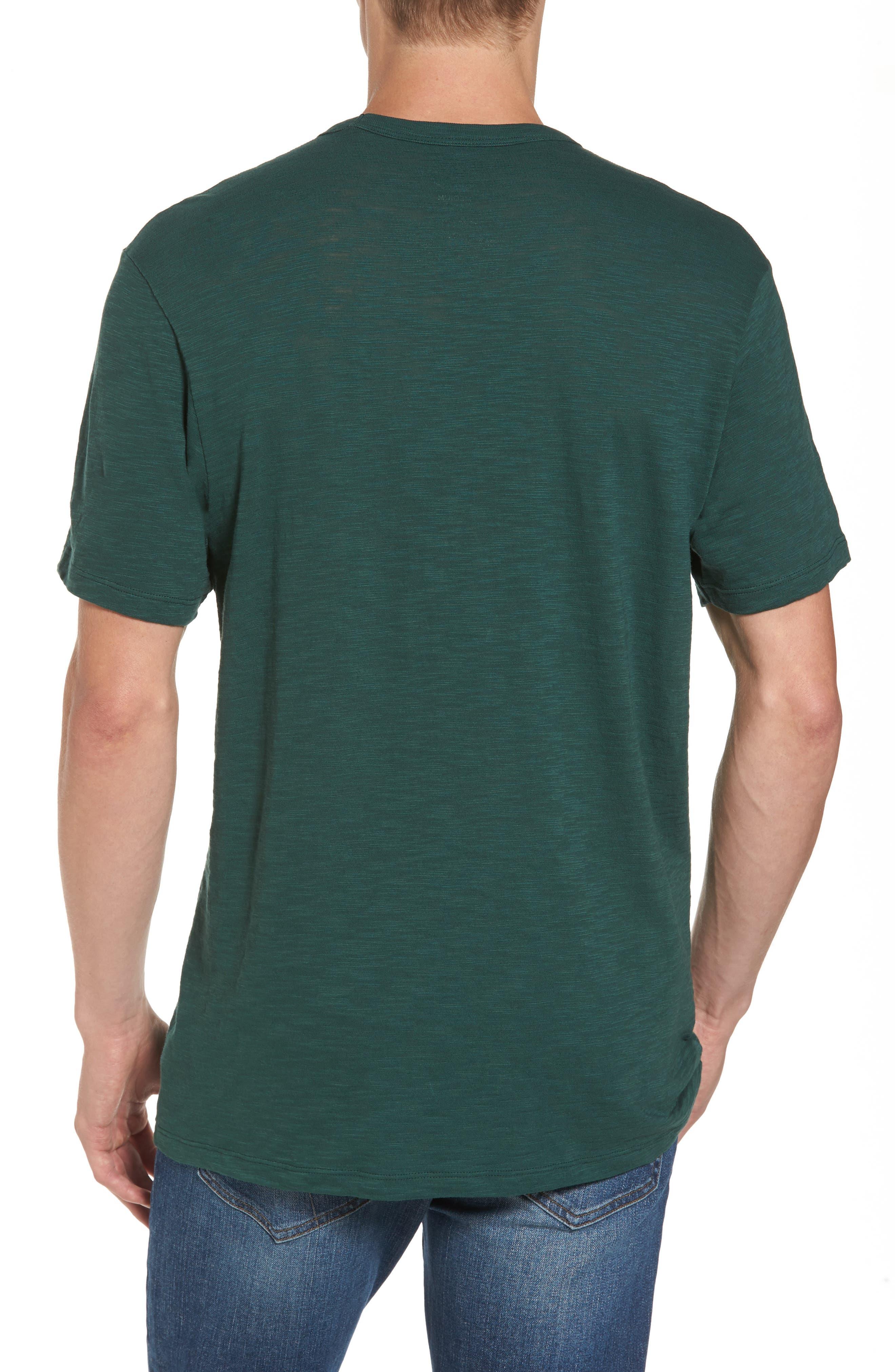 Green Bay Packers T-Shirt,                             Alternate thumbnail 2, color,                             Dark Green