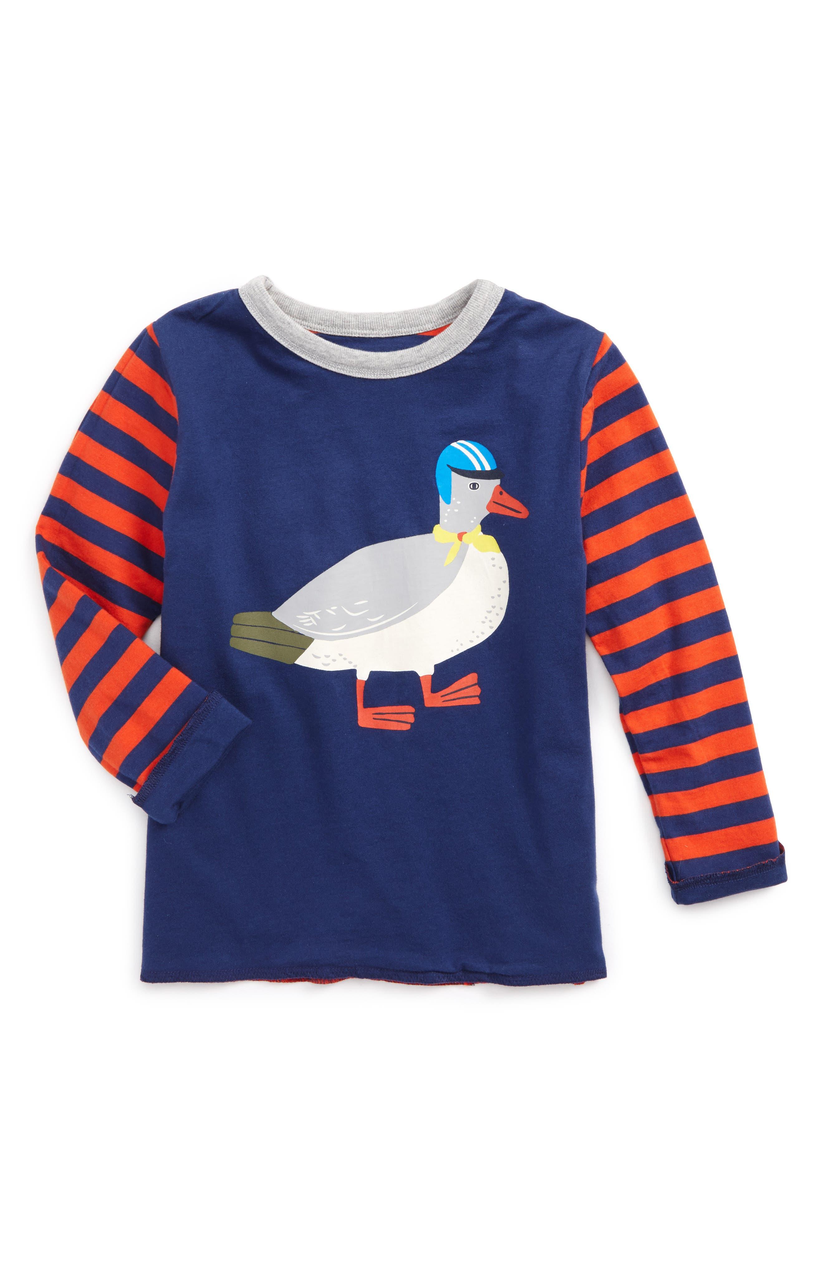 Mini Boden Animal Reversible T-Shirt (Toddler Boys, Little Boys & Big Boys)
