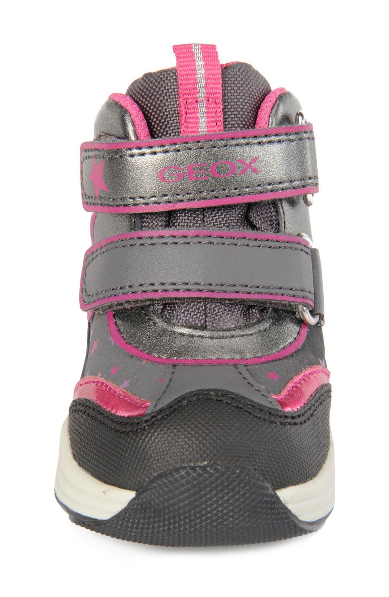 Alternate Image 4  - Geox Gulp ABX Waterproof Star Sneaker Boot (Walker & Toddler)