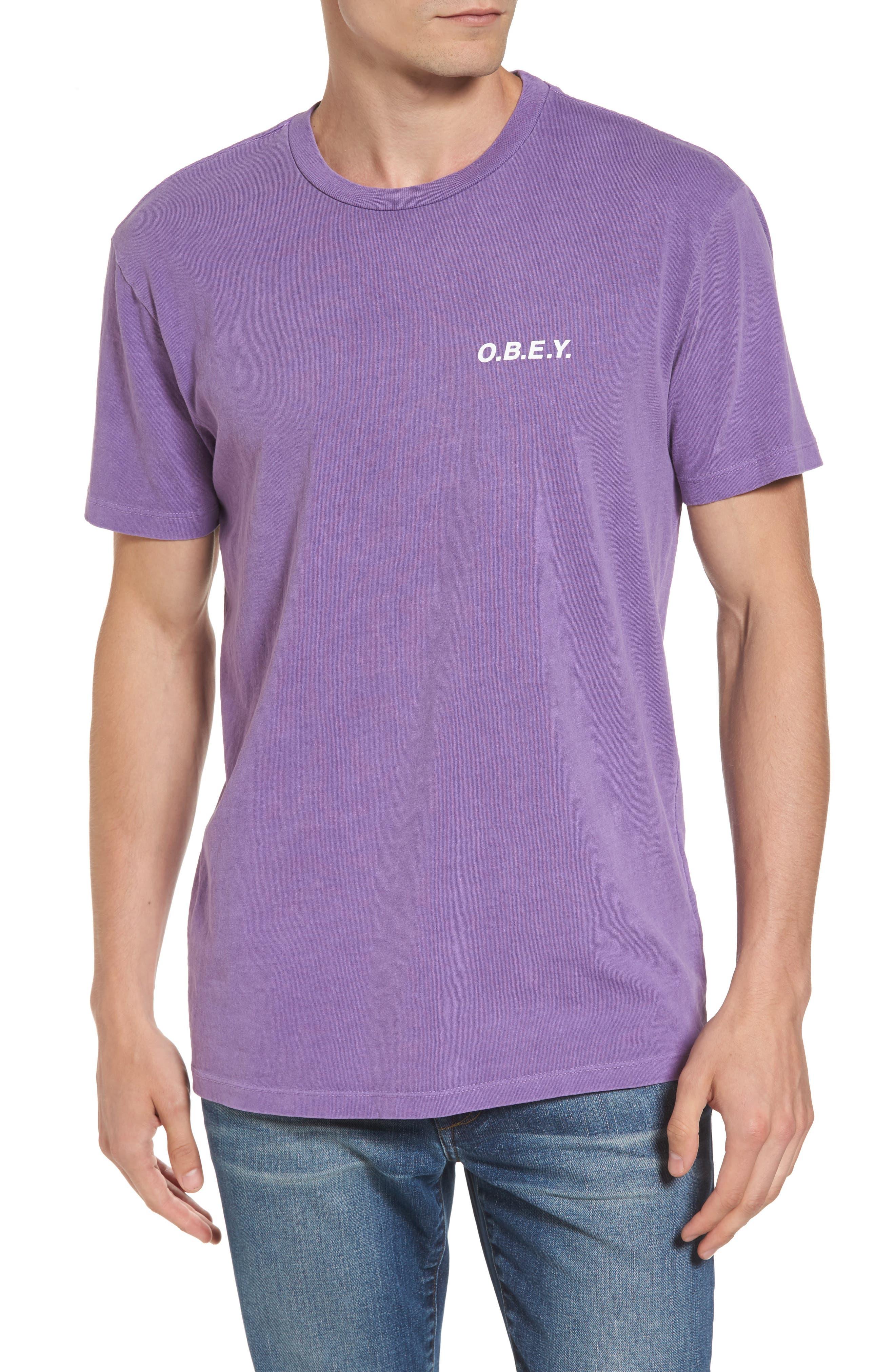 Graphic T-Shirt,                         Main,                         color, Dusty Purple