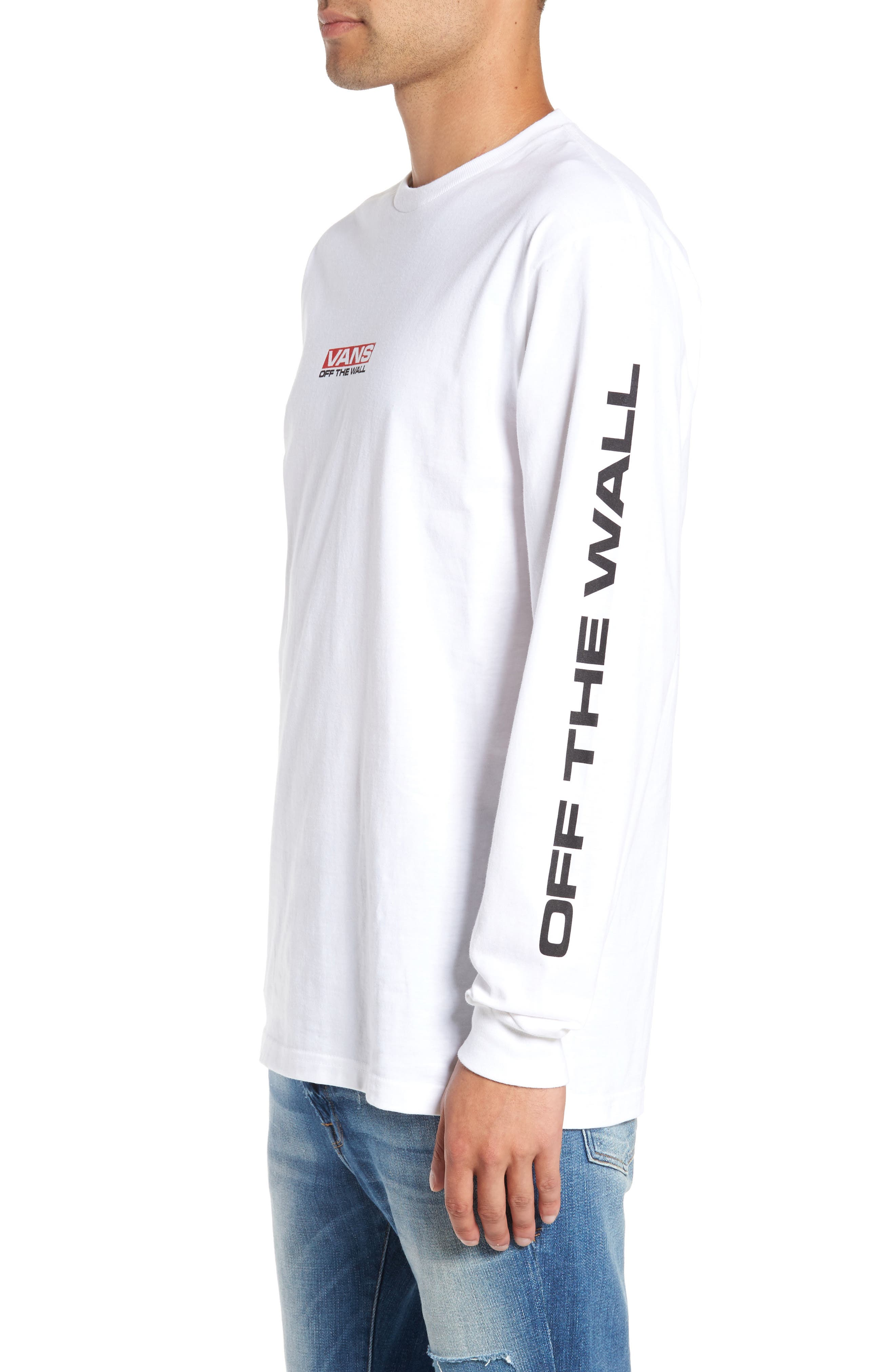 Alternate Image 3  - Vans Side Waze Graphic Long Sleeve T-Shirt