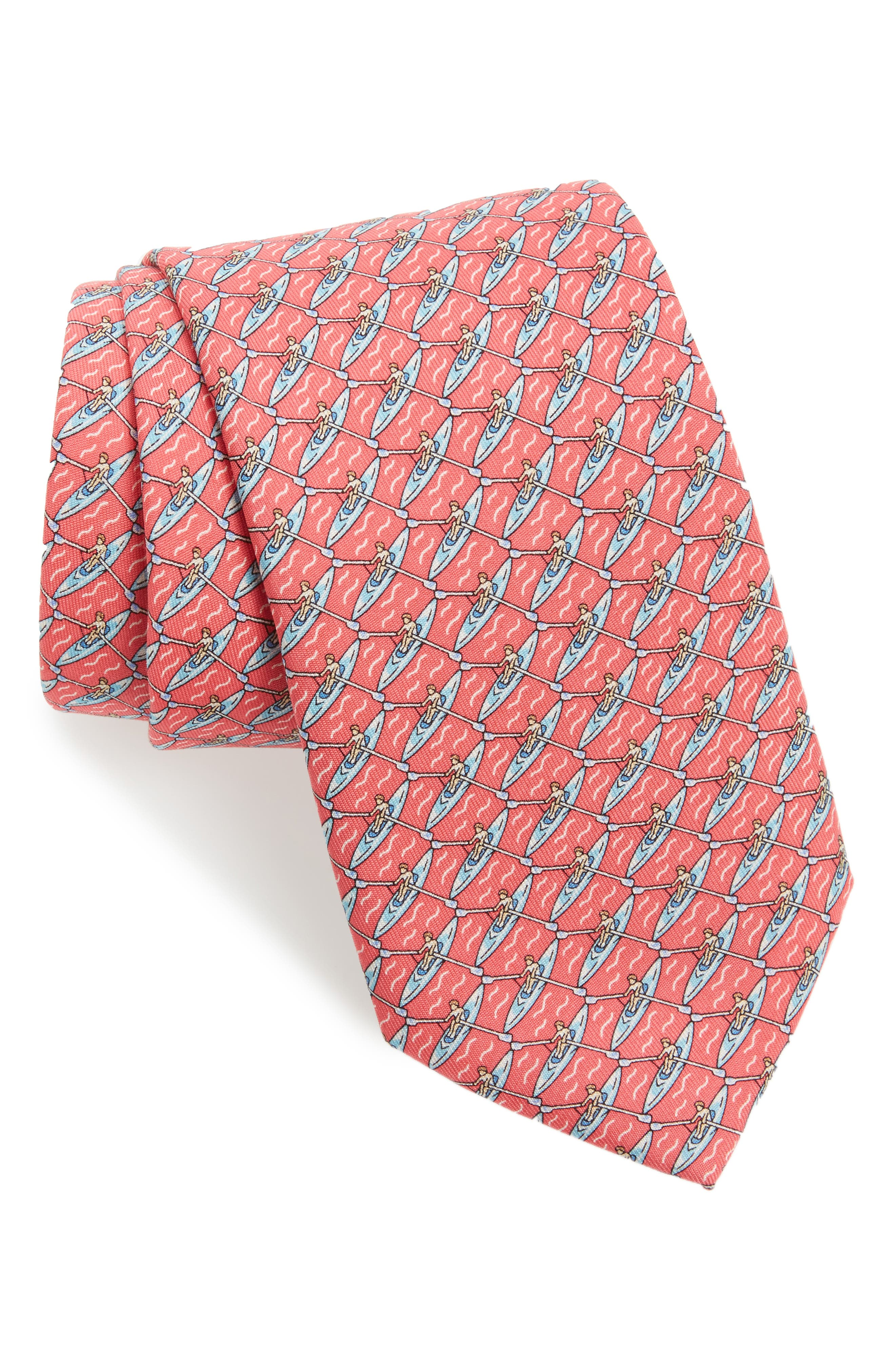 Main Image - vineyard vines Rowing Silk Tie