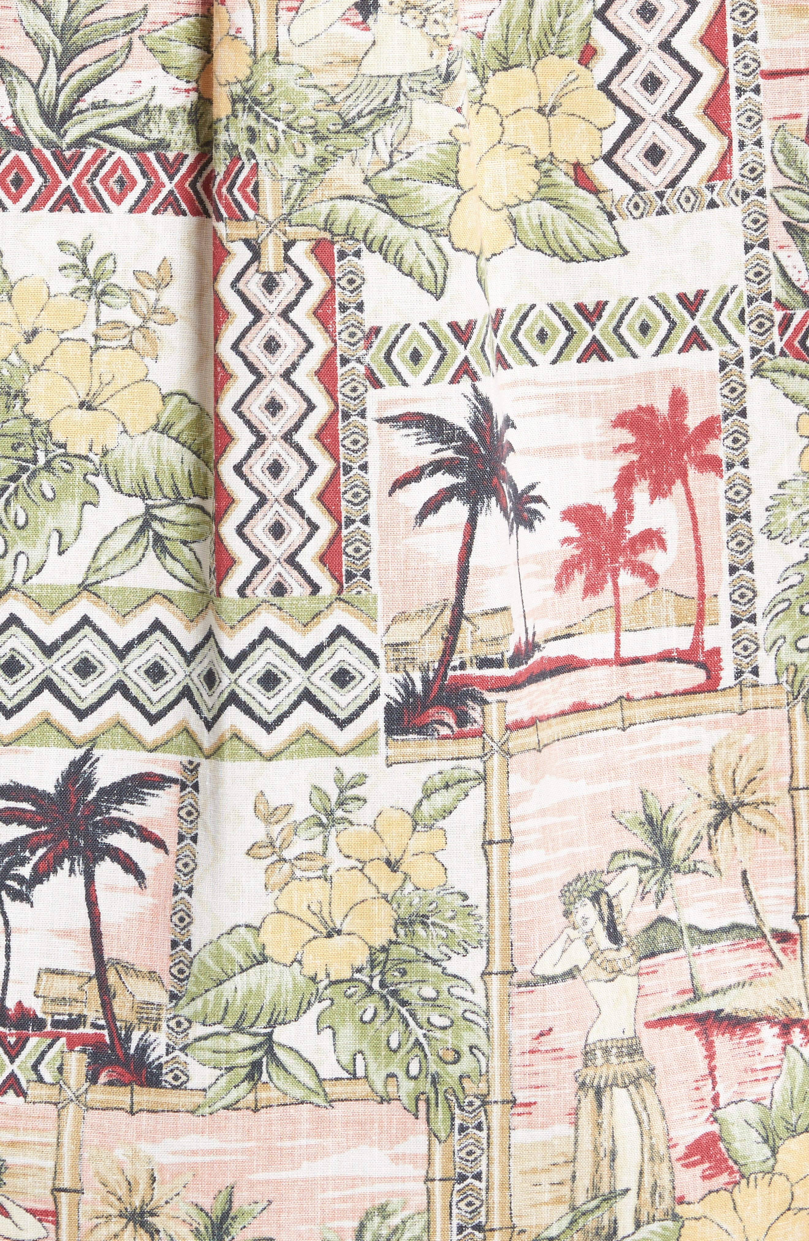 Alternate Image 5  - Kahala Aloha Classic Fit Pullover Camp Shirt