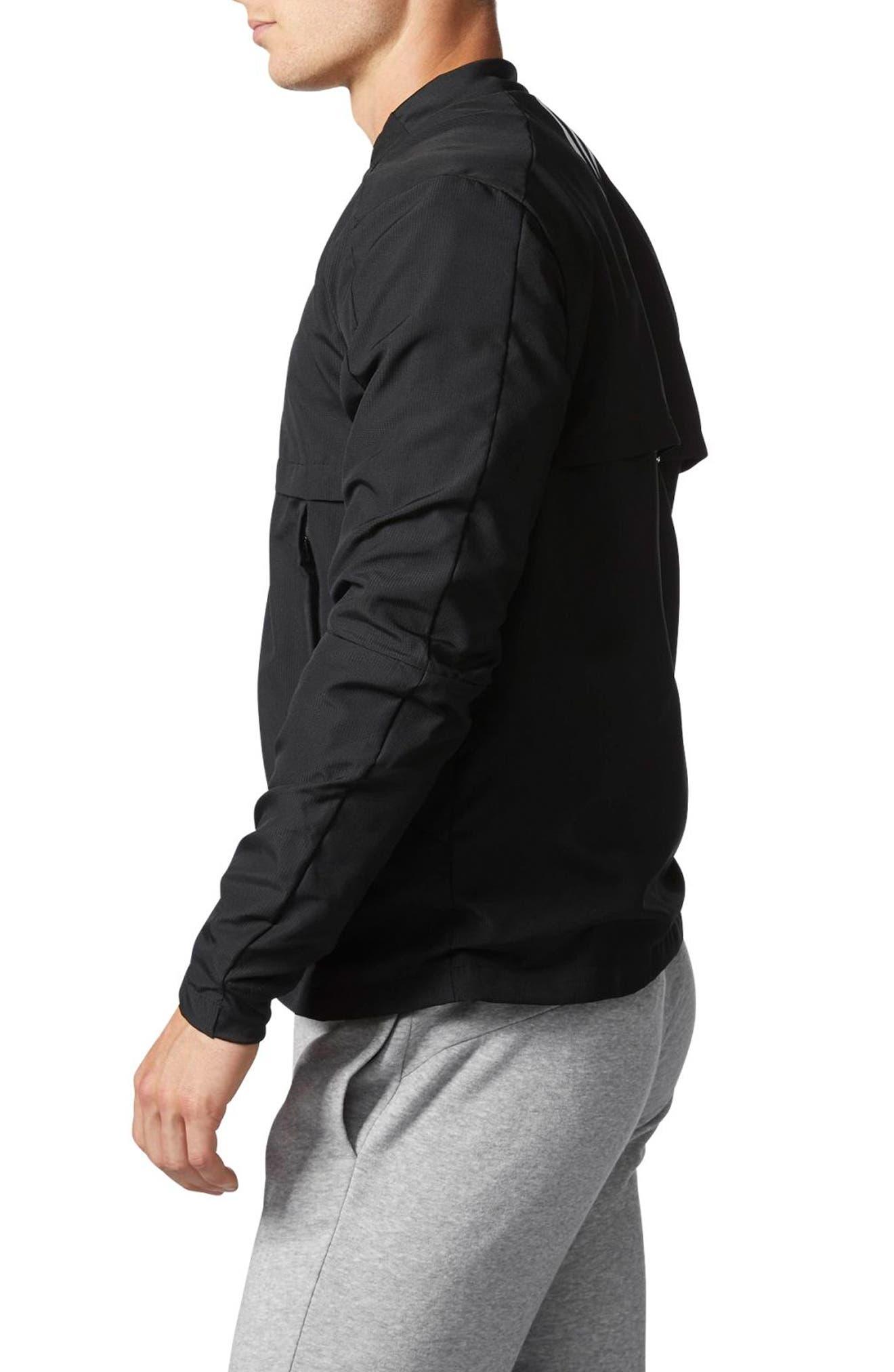 Alternate Image 3  - adidas Squad ID Woven Bomber Jacket