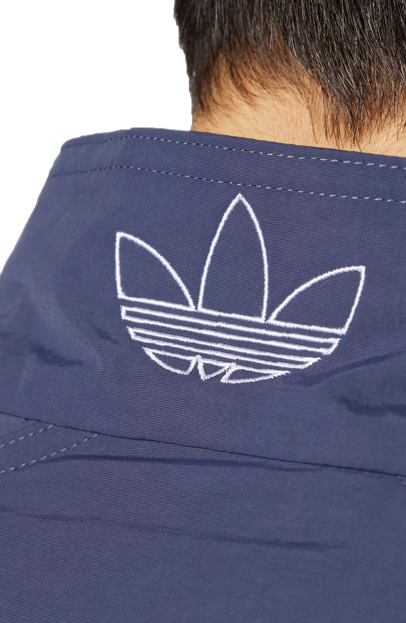 Alternate Image 4  - adidas Originals TNT Trefoil Windbreaker