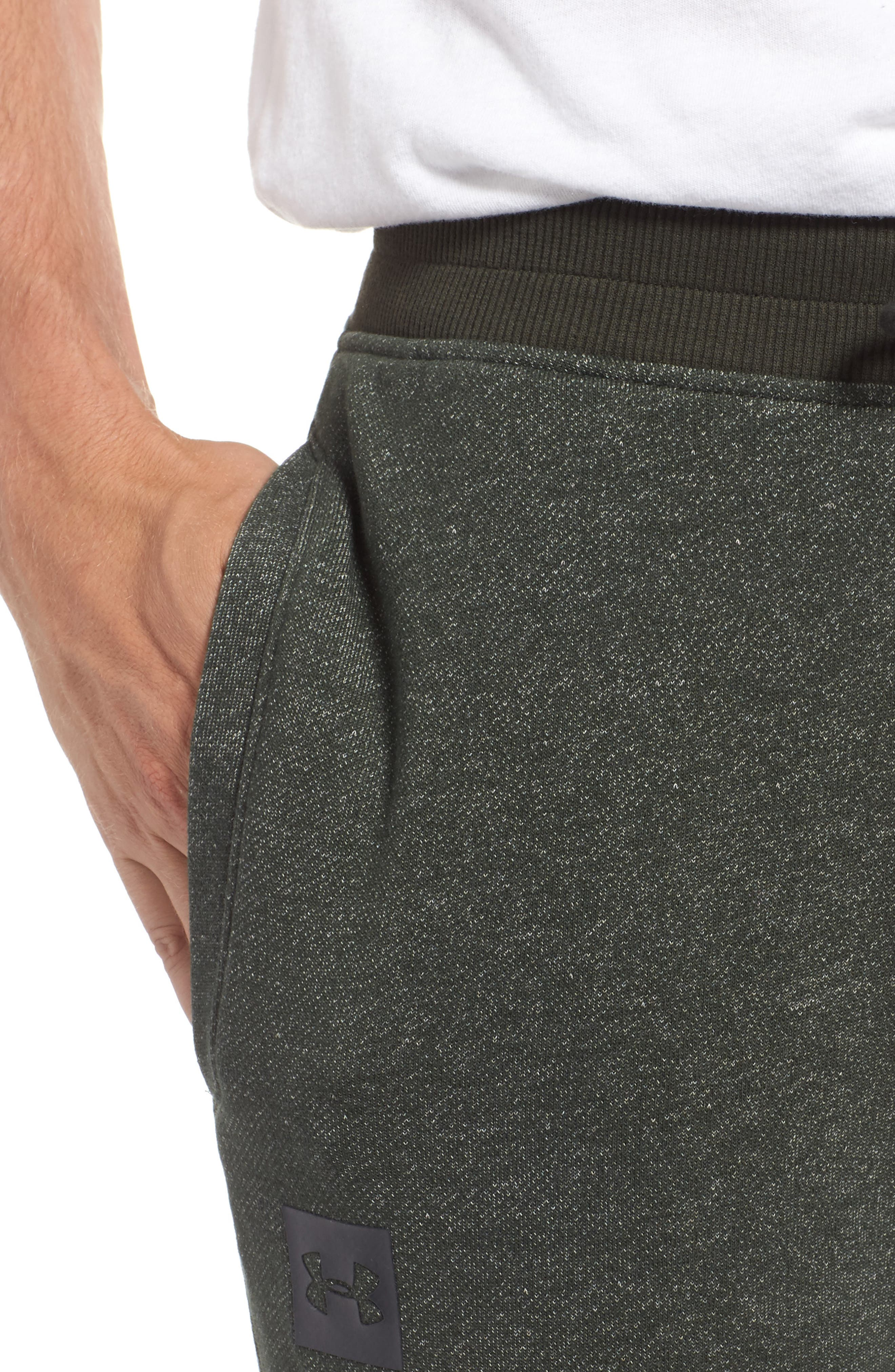 Alternate Image 4  - Under Armour Terry Knit Athletic Shorts