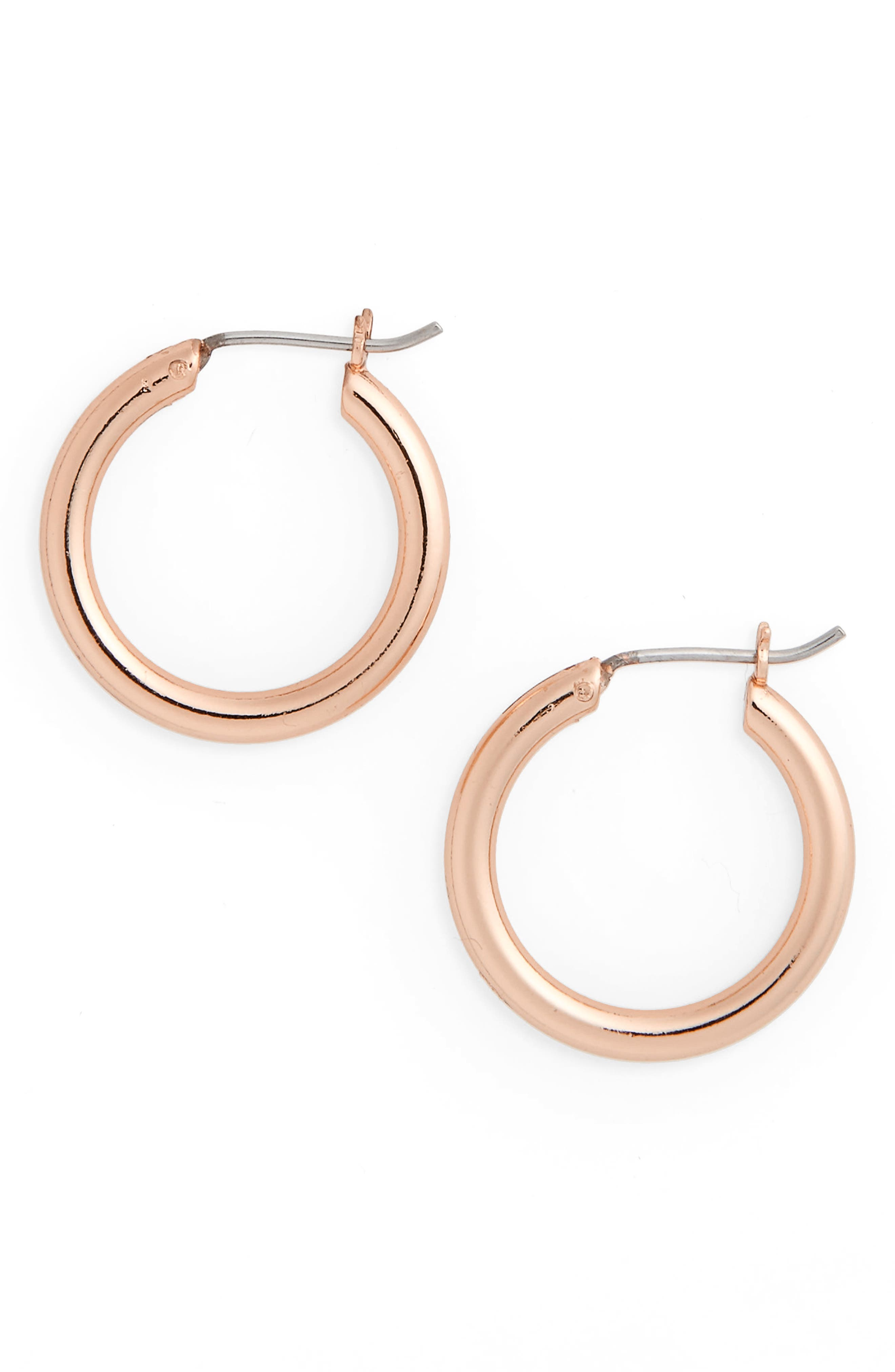 Halogen® Small Hoop Earrings