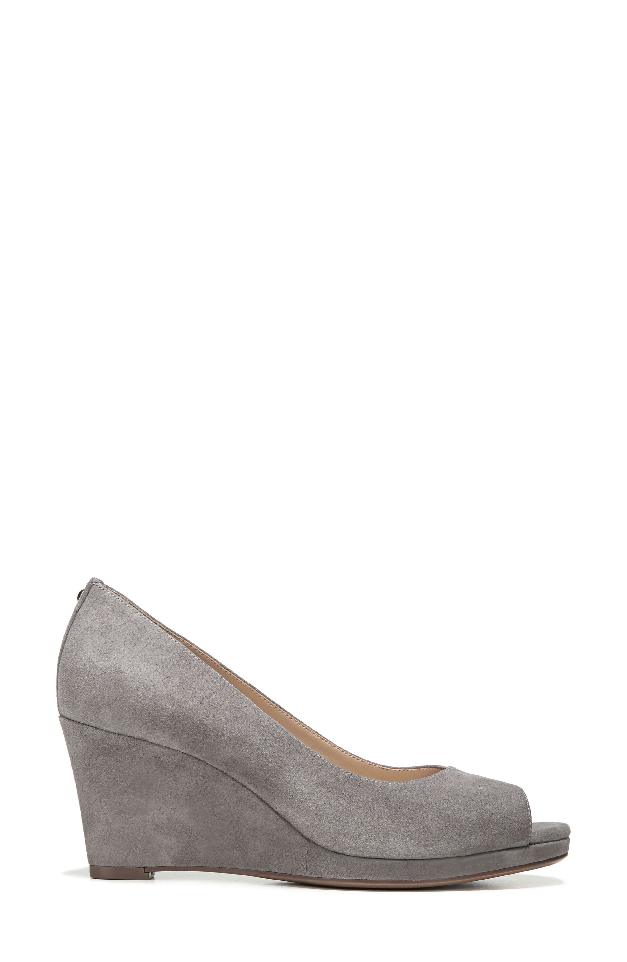 Alternate Image 3  - Naturalizer Olivia Peep Toe Wedge (Women)