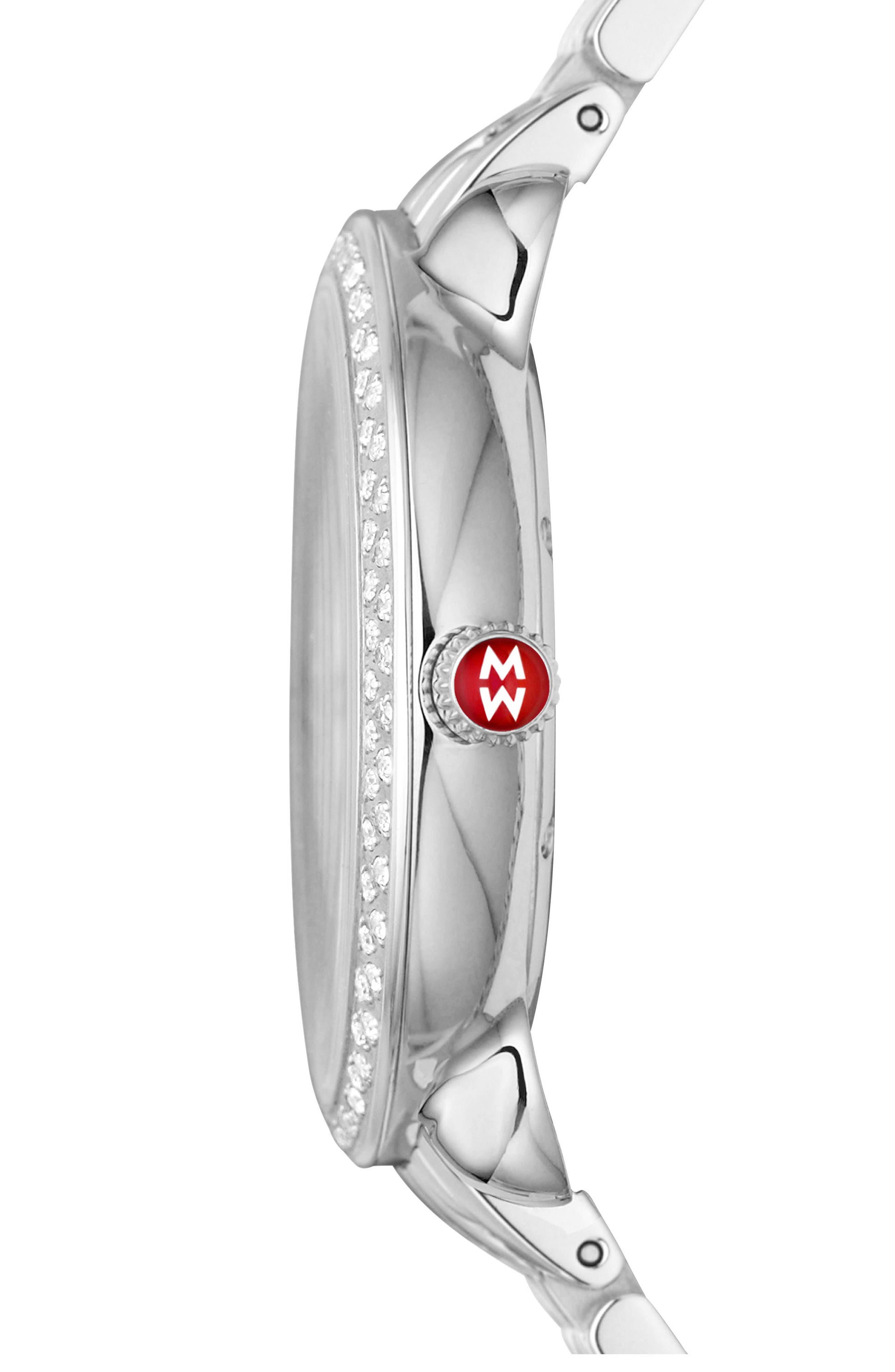 Serein Watch Head, 40mm x 38mm,                             Alternate thumbnail 2, color,                             Teal/ Silver