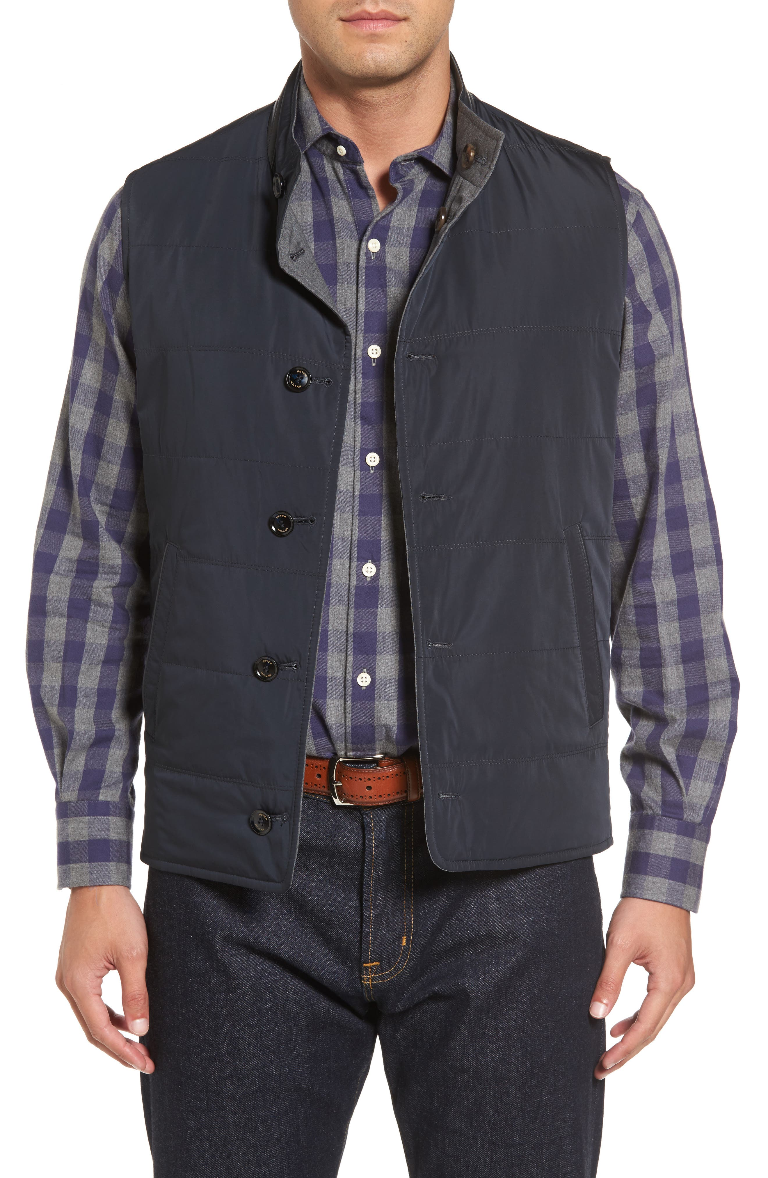 Alternate Image 1 Selected - Peter Millar Collection Reversible Vest