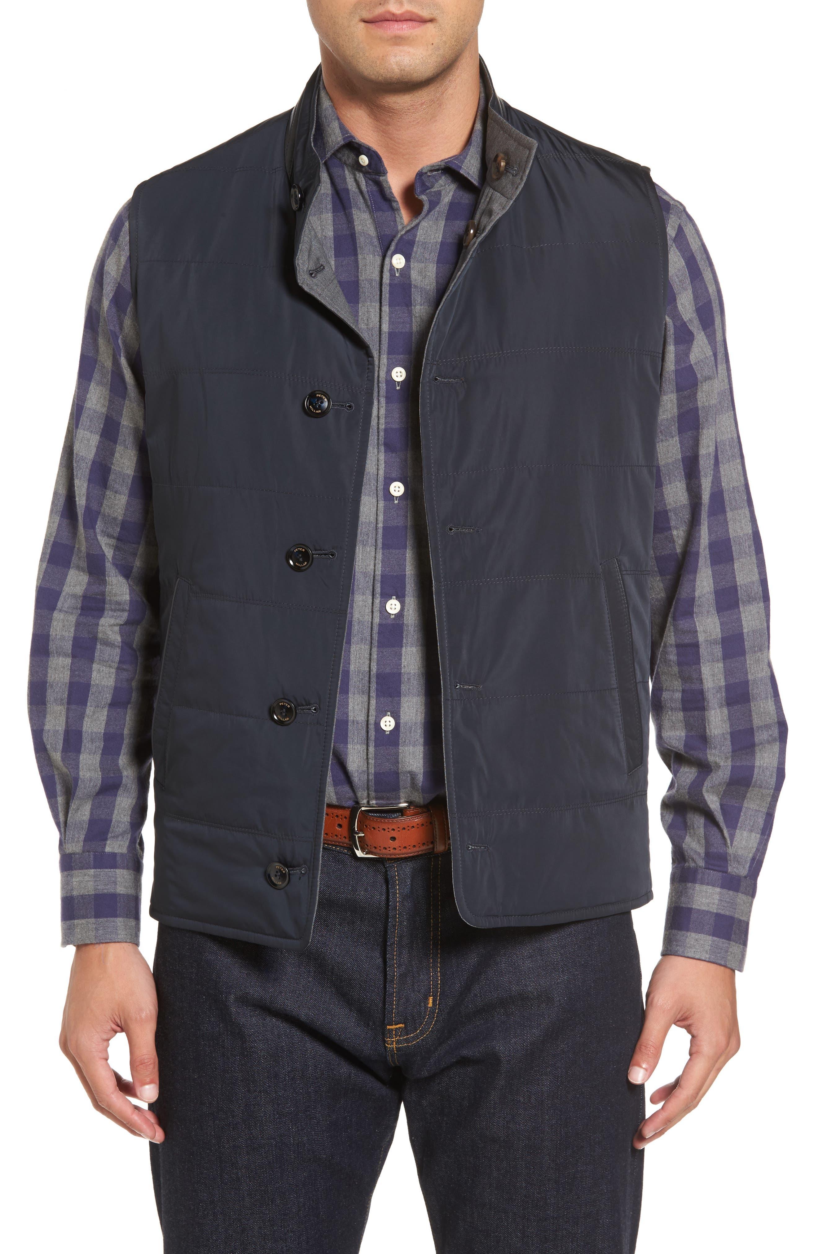 Main Image - Peter Millar Collection Reversible Vest