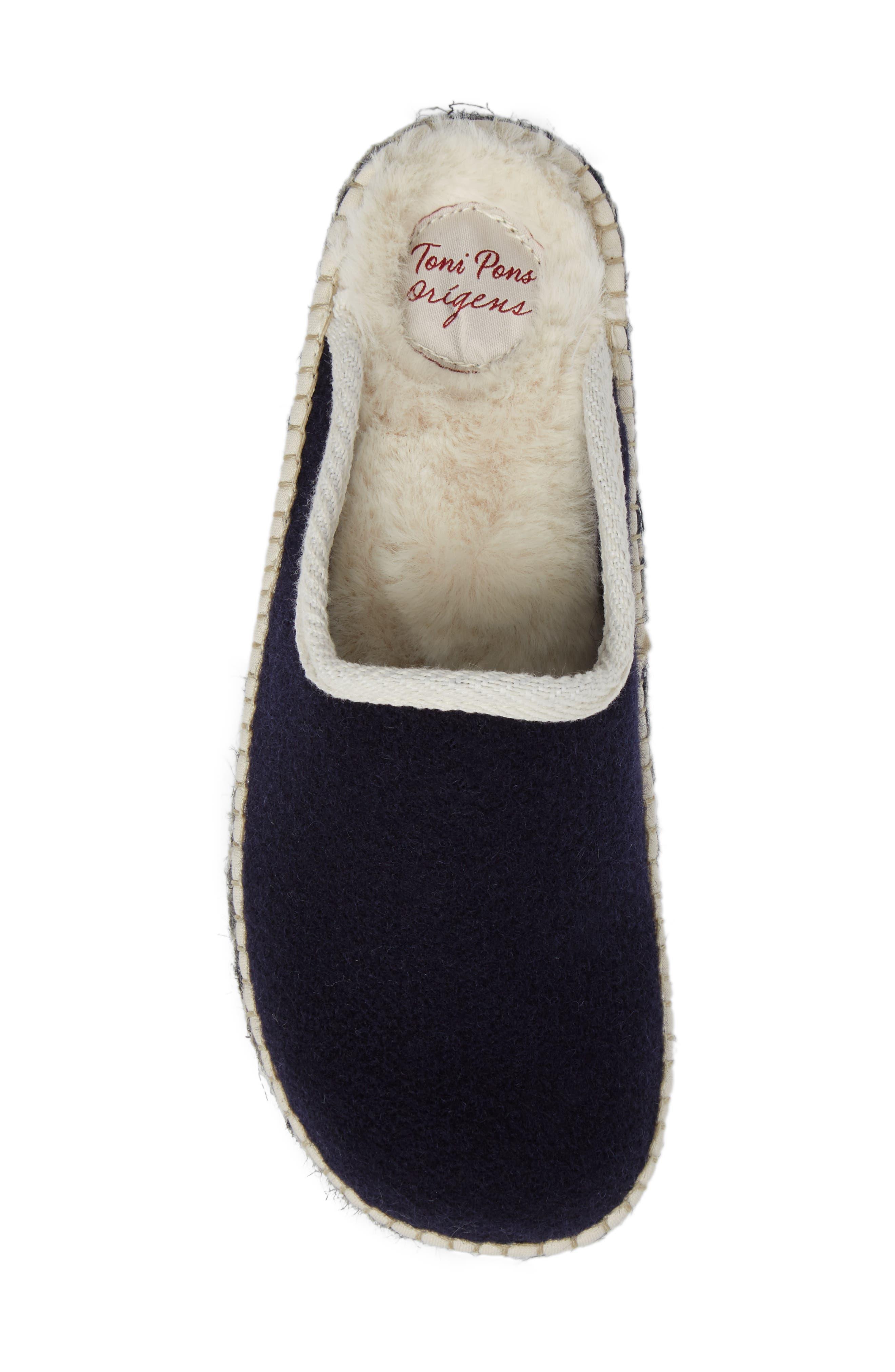 Alternate Image 5  - Toni Pons Mysen Faux Fur Lined Espadrille Slipper (Women)