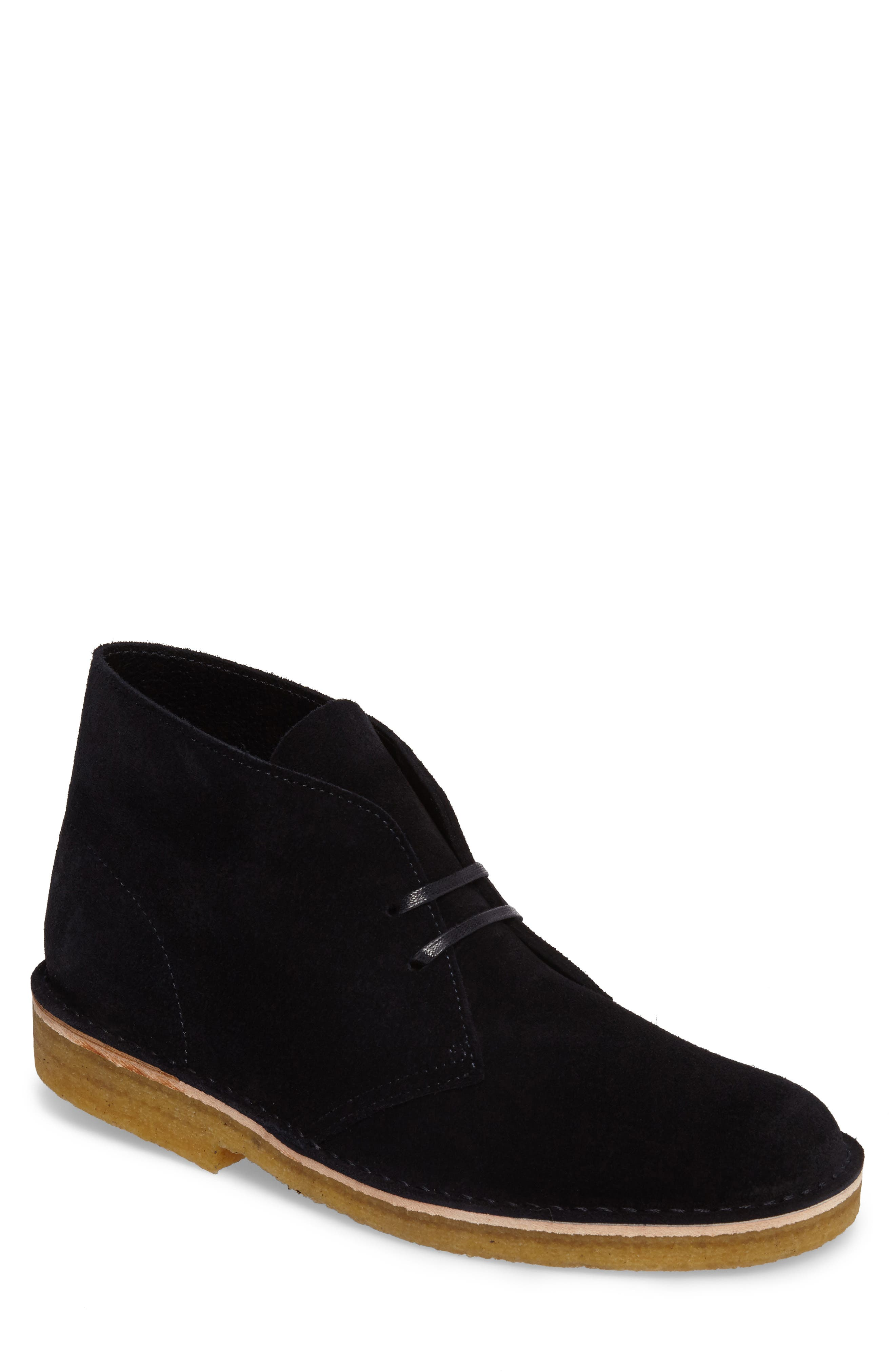 Desert Chukka Boot,                         Main,                         color, Indigo Suede