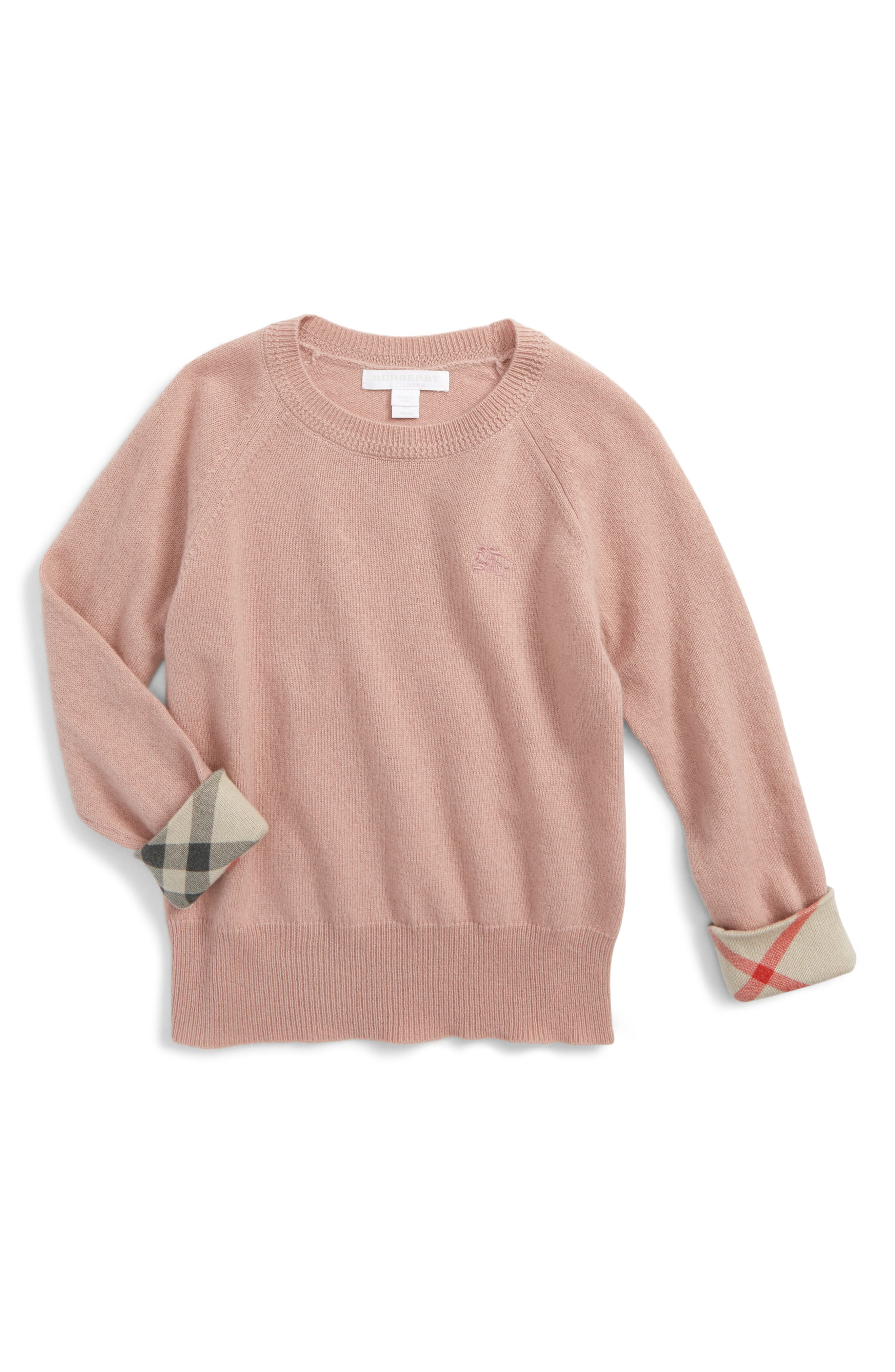 Burberry Georgey Cashmere Sweater (Little Girls & Big Girls)