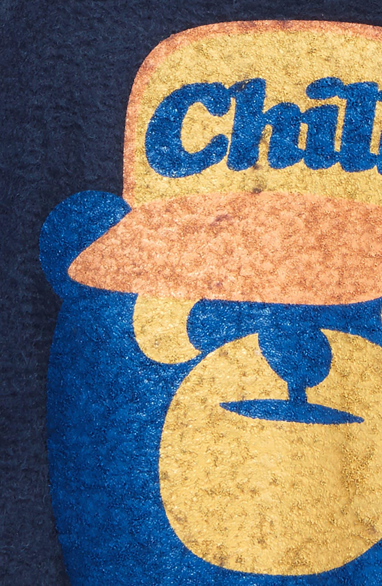 Chill Bear Sweatshirt,                             Alternate thumbnail 2, color,                             Navy