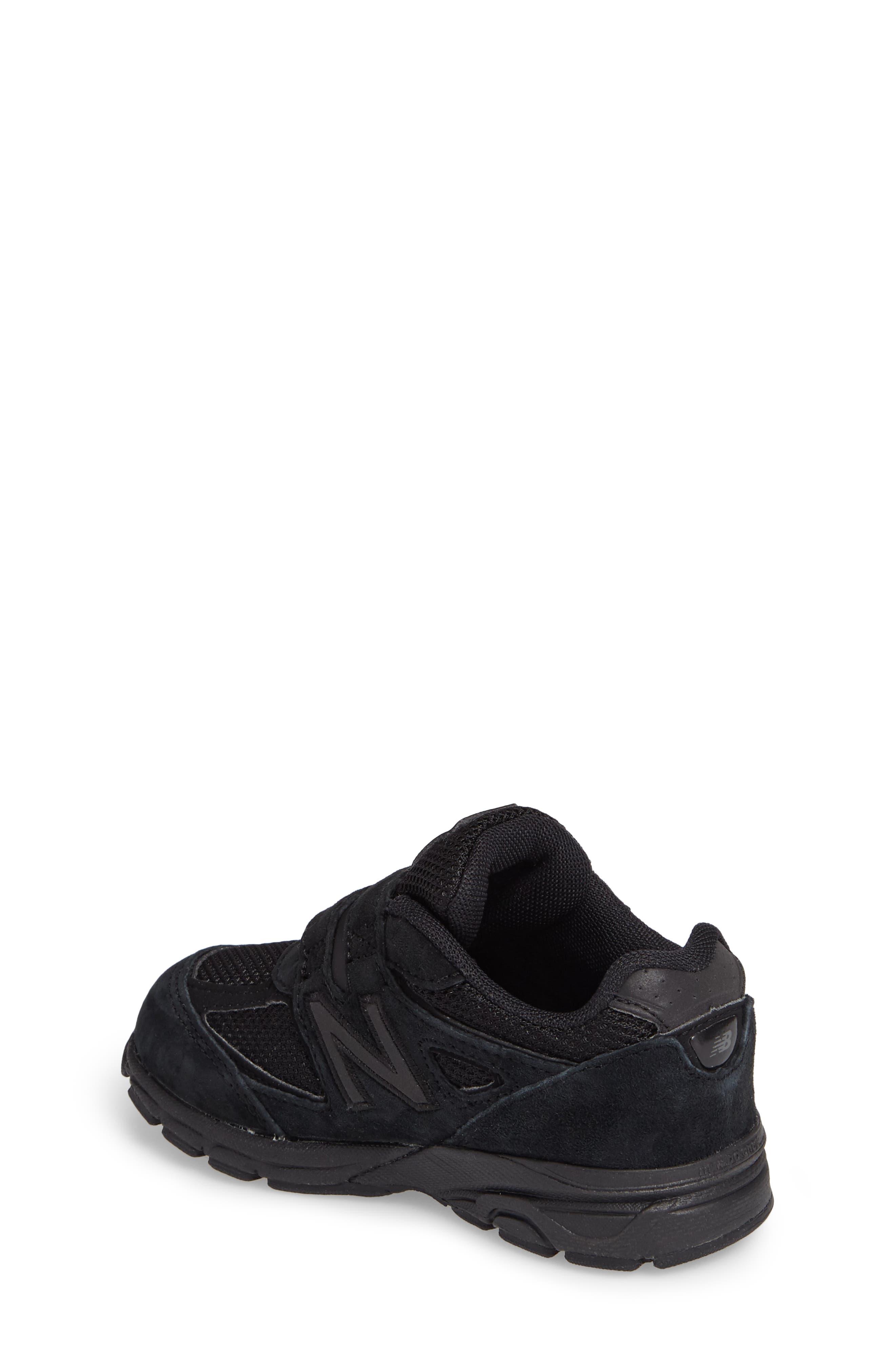 '990v4' Sneaker,                             Alternate thumbnail 2, color,                             Black/ Black