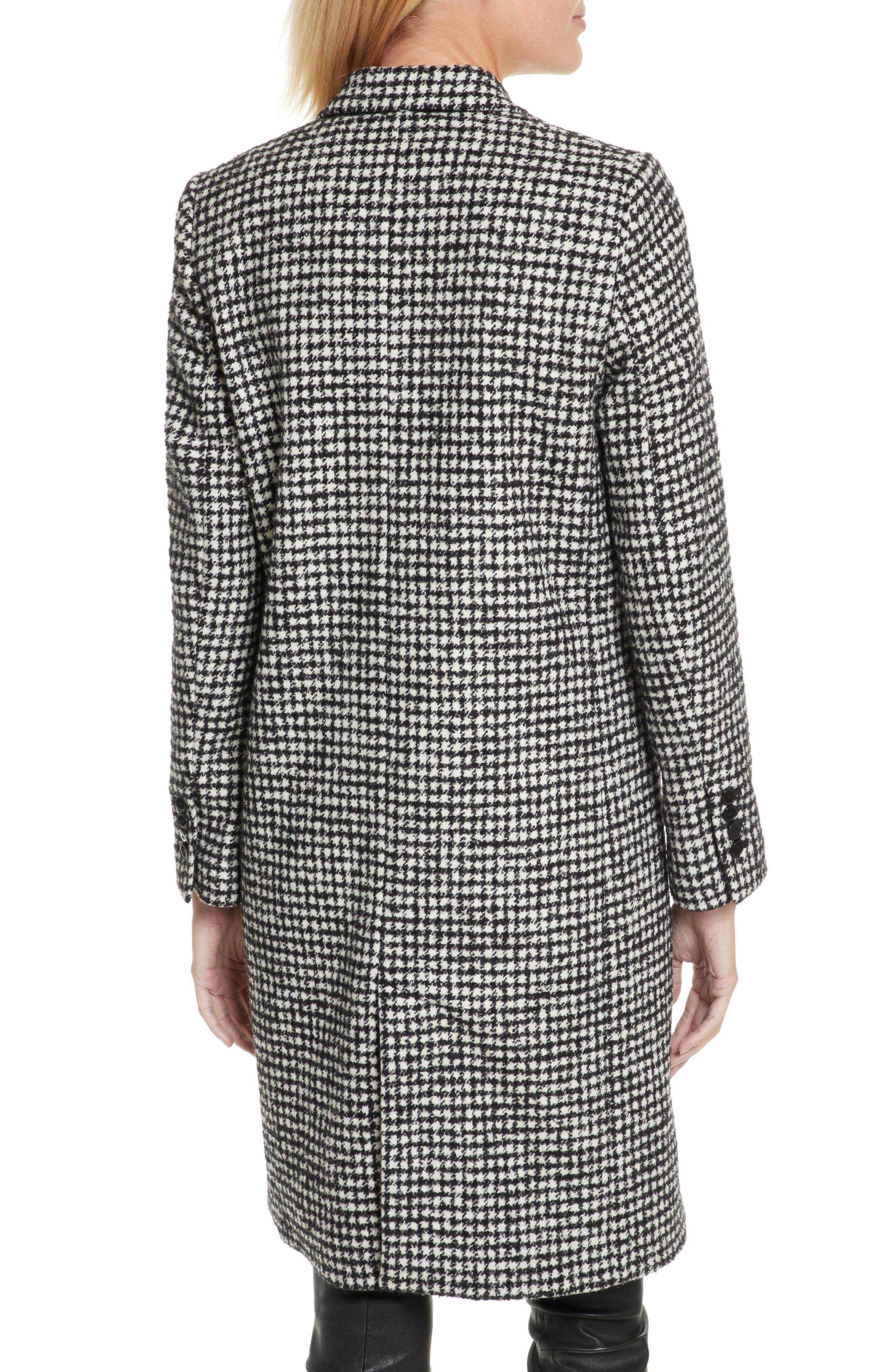 Alternate Image 2  - The Kooples Double-Breasted Wool Blend Coat