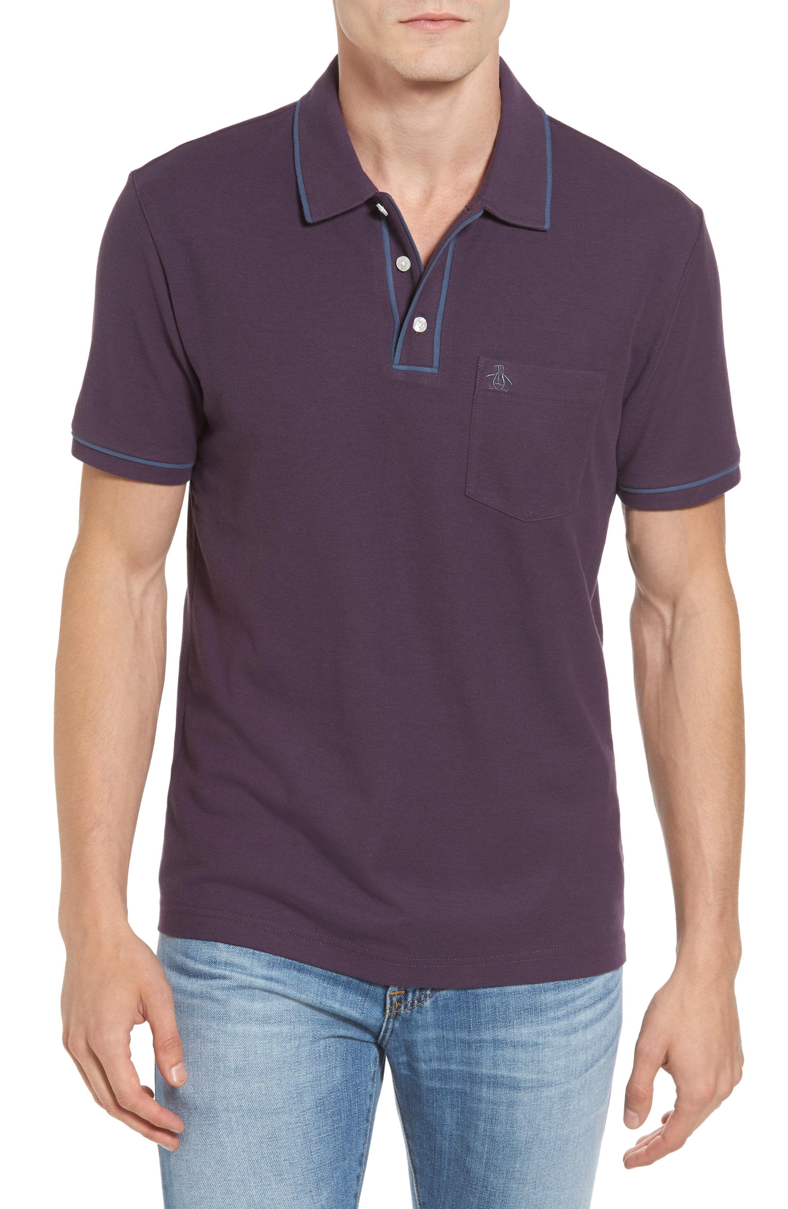 Main Image - Original Penguin Earl Piqué Polo