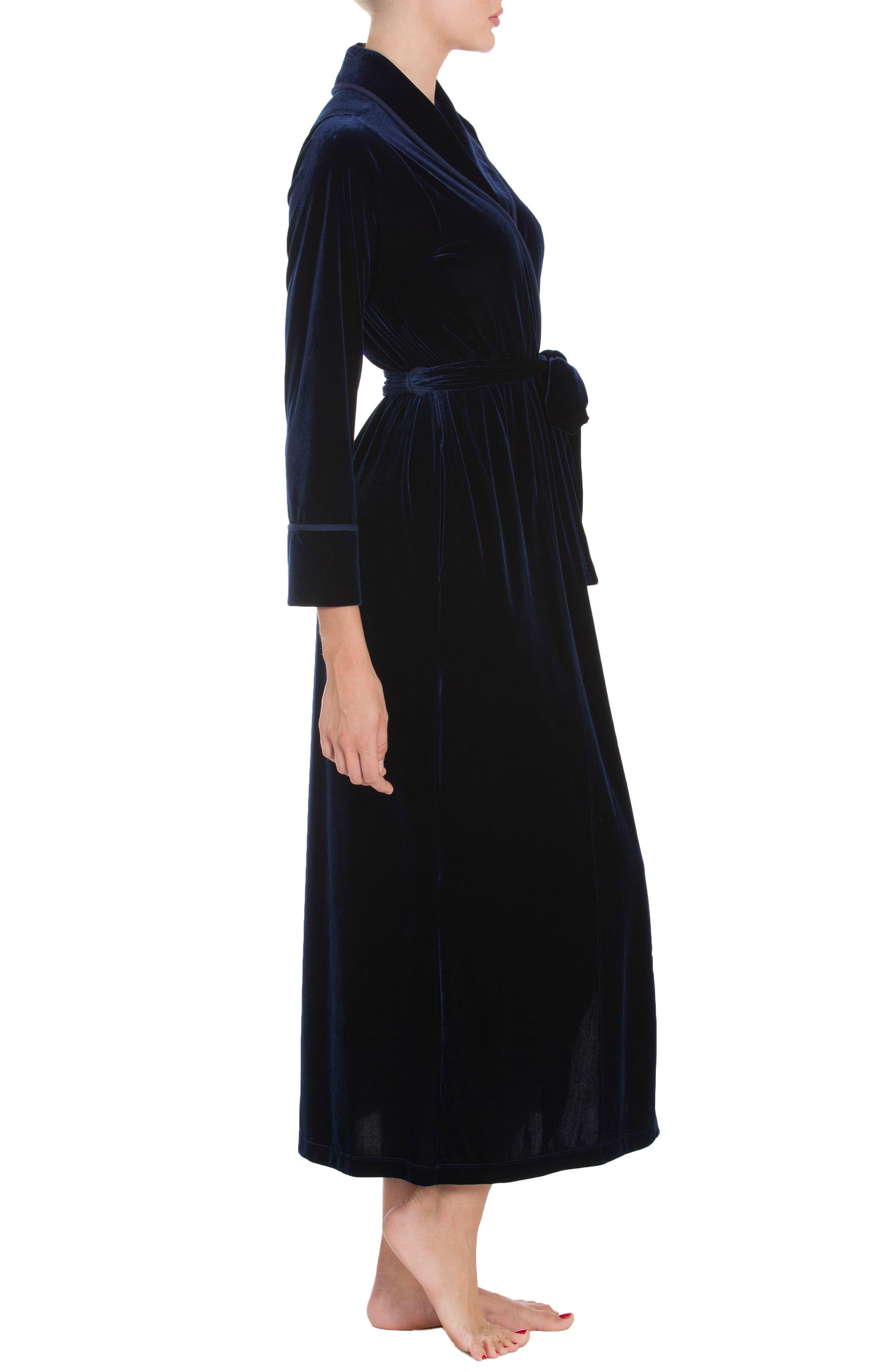 Alternate Image 3  - Jonquil Velvet Robe