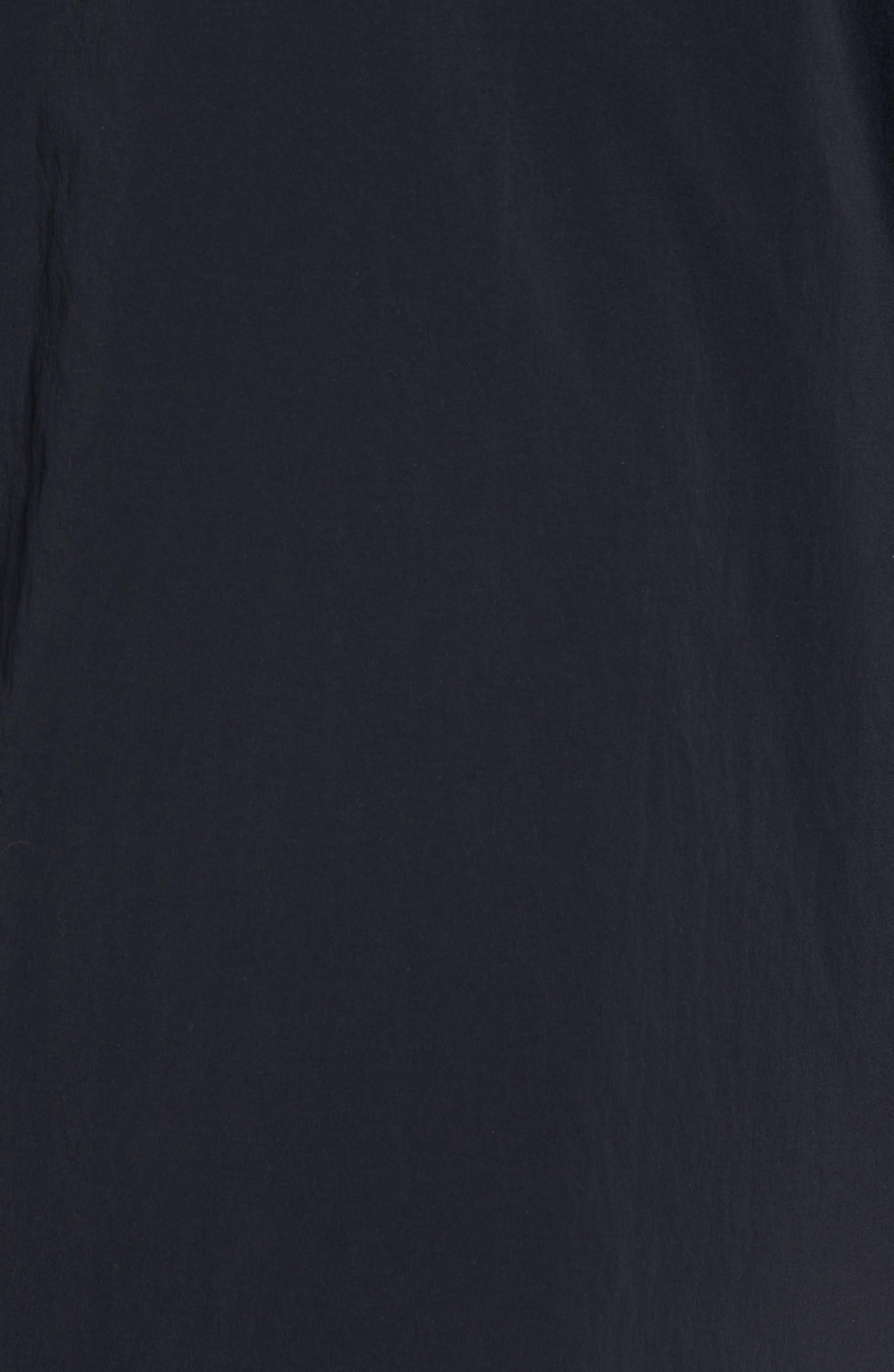 Insulated Trim Sideline Jacket,                             Alternate thumbnail 5, color,                             Black