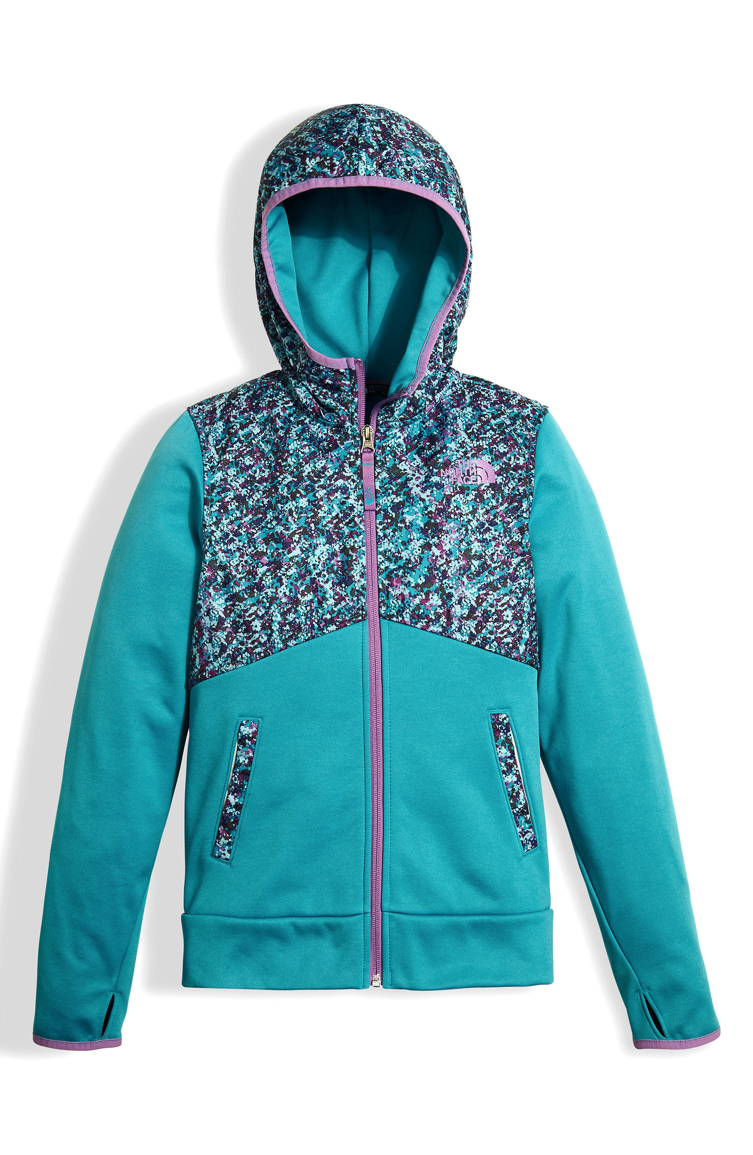 Alternate Image 1 Selected - The North Face Kickin It Hoodie (Big Girls)