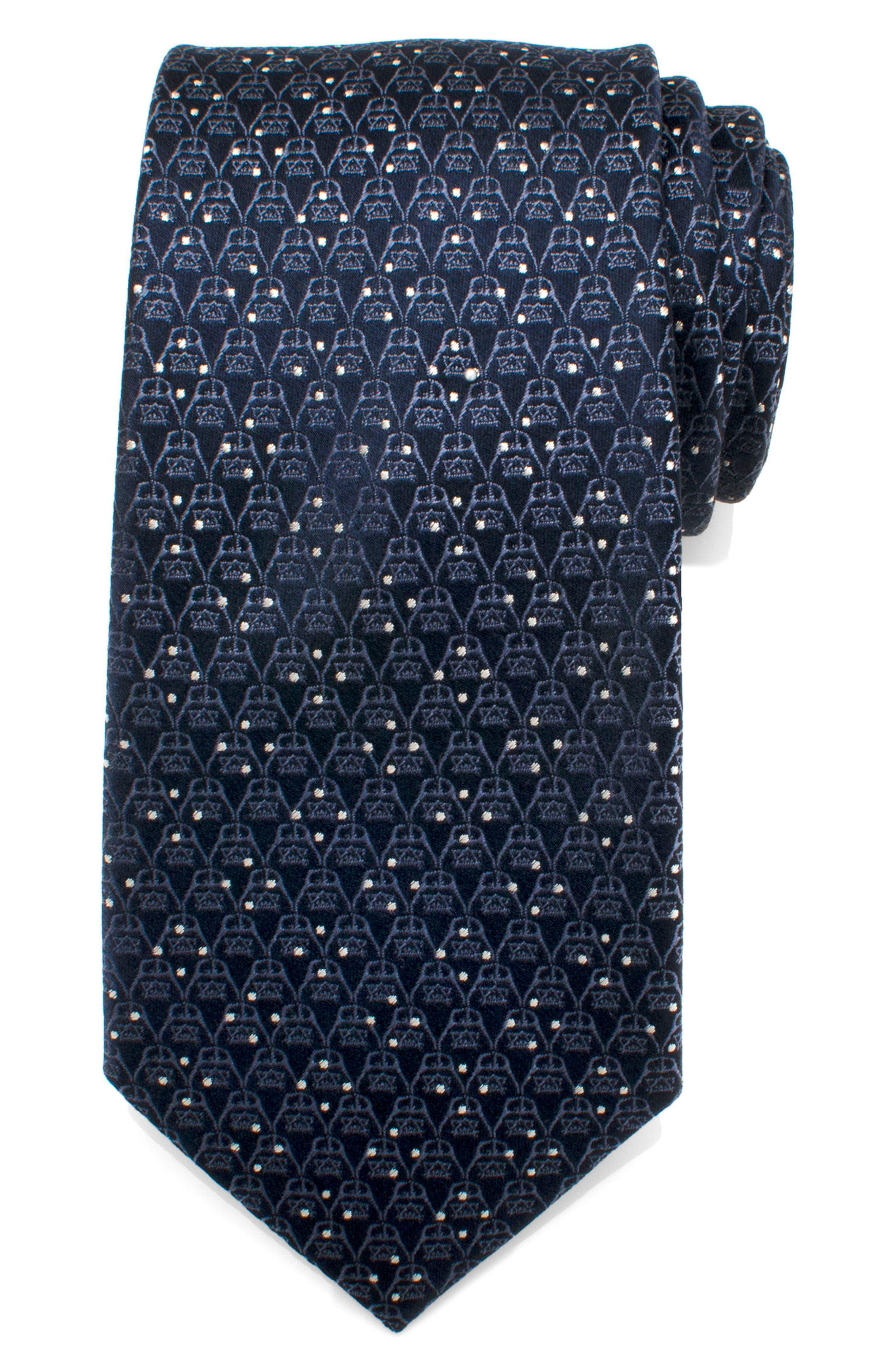 Cufflinks Inc. Darth Vader Dot Tie,                             Alternate thumbnail 2, color,                             Navy