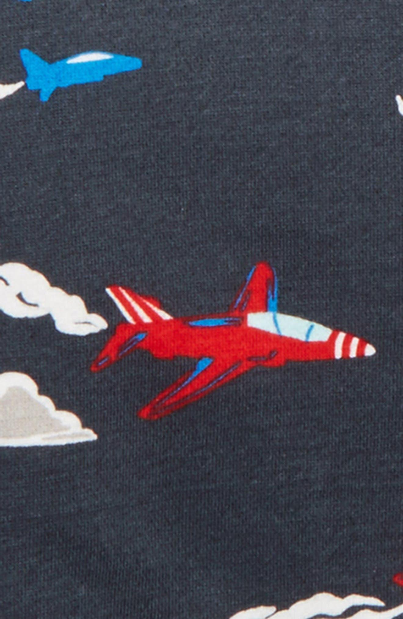 Print Shaggy Hoodie,                             Alternate thumbnail 2, color,                             London Grey Jets