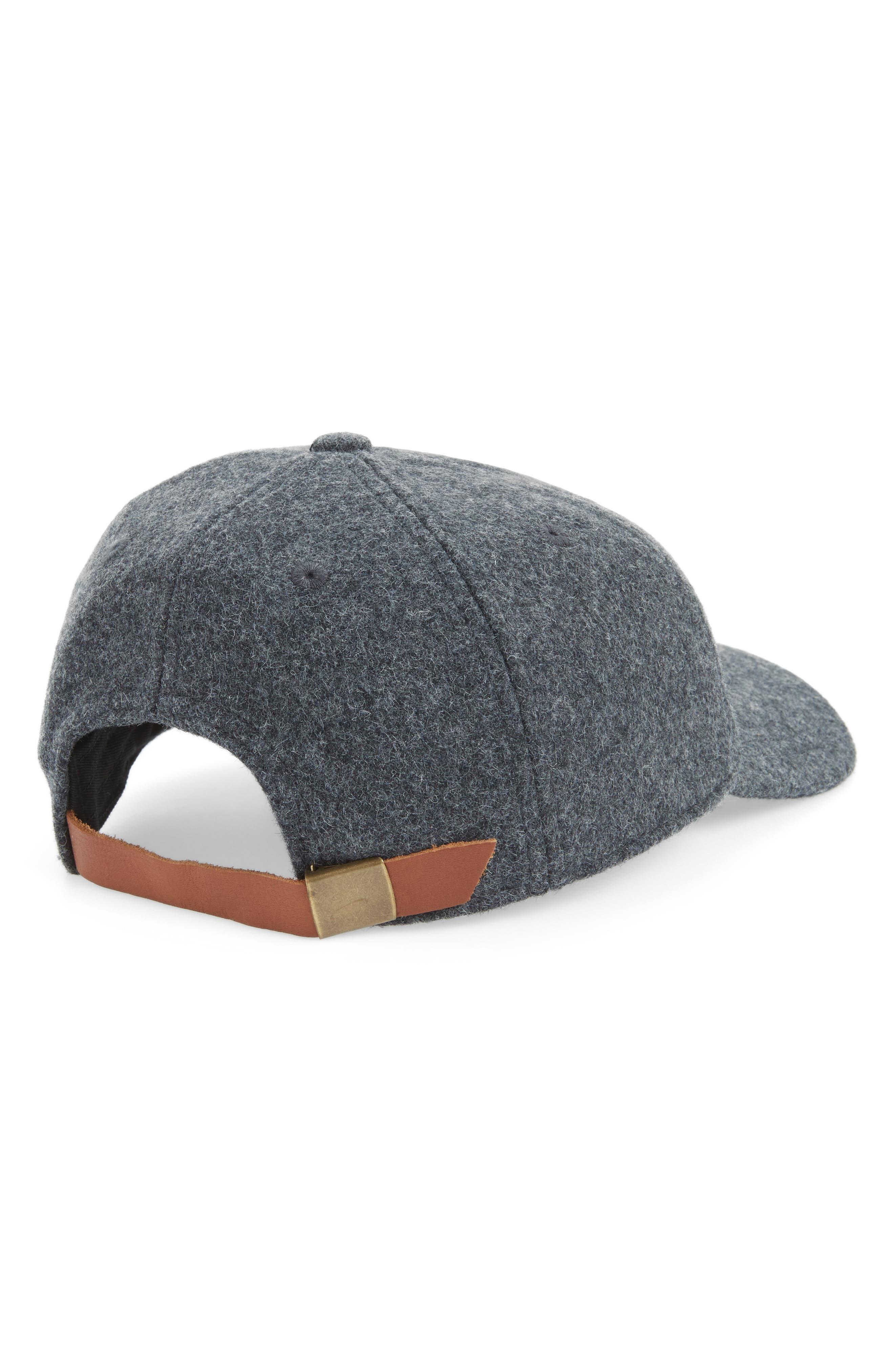 Alternate Image 2  - Madewell Wool Blend Baseball Hat