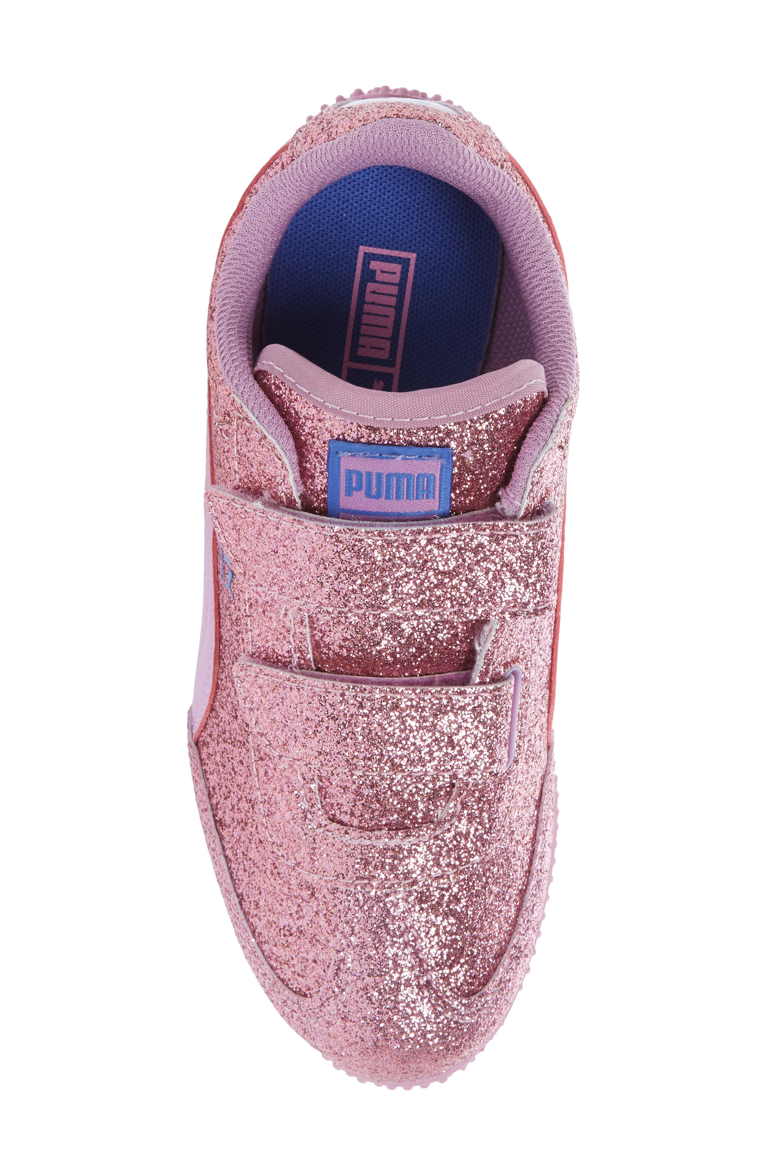 Whirlwind Glitz Sneaker,                             Alternate thumbnail 5, color,                             Purple