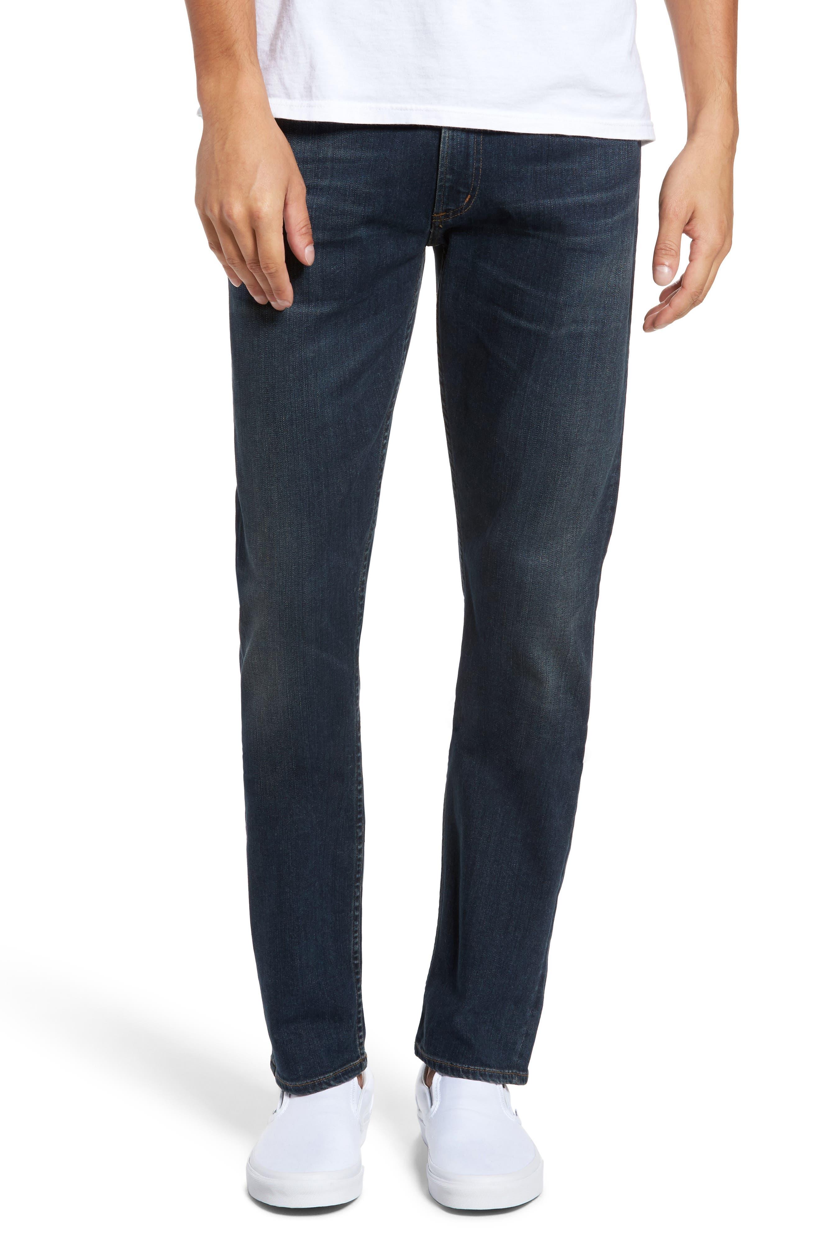 PERFORM - Bowery Slim Fit Jeans,                         Main,                         color, Kingman