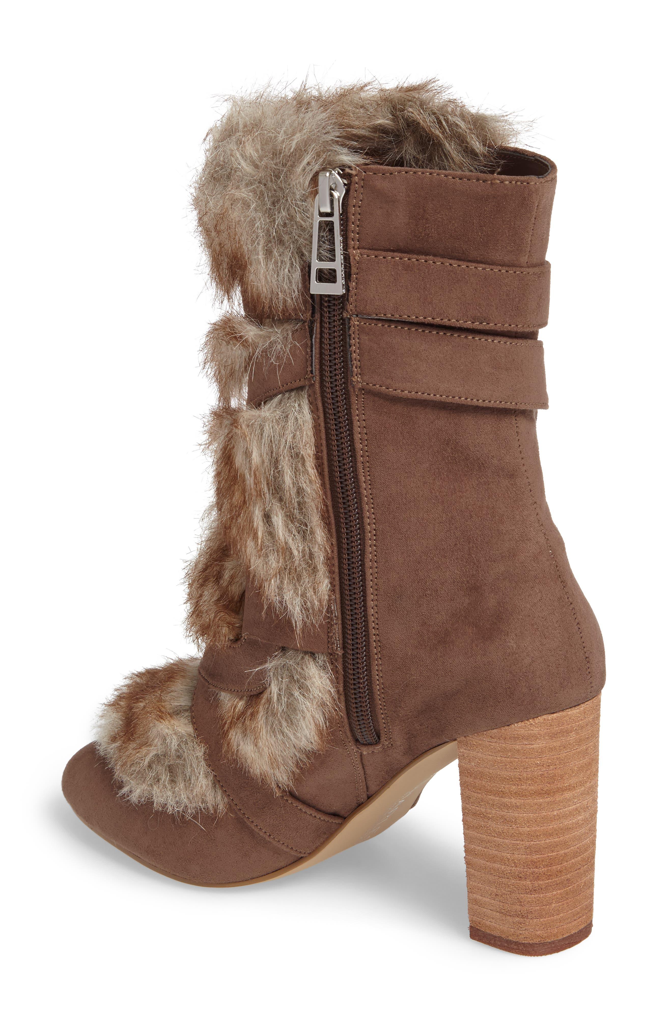 Alternate Image 2  - Charles by Charles David Alberta Faux Fur Boot (Women)