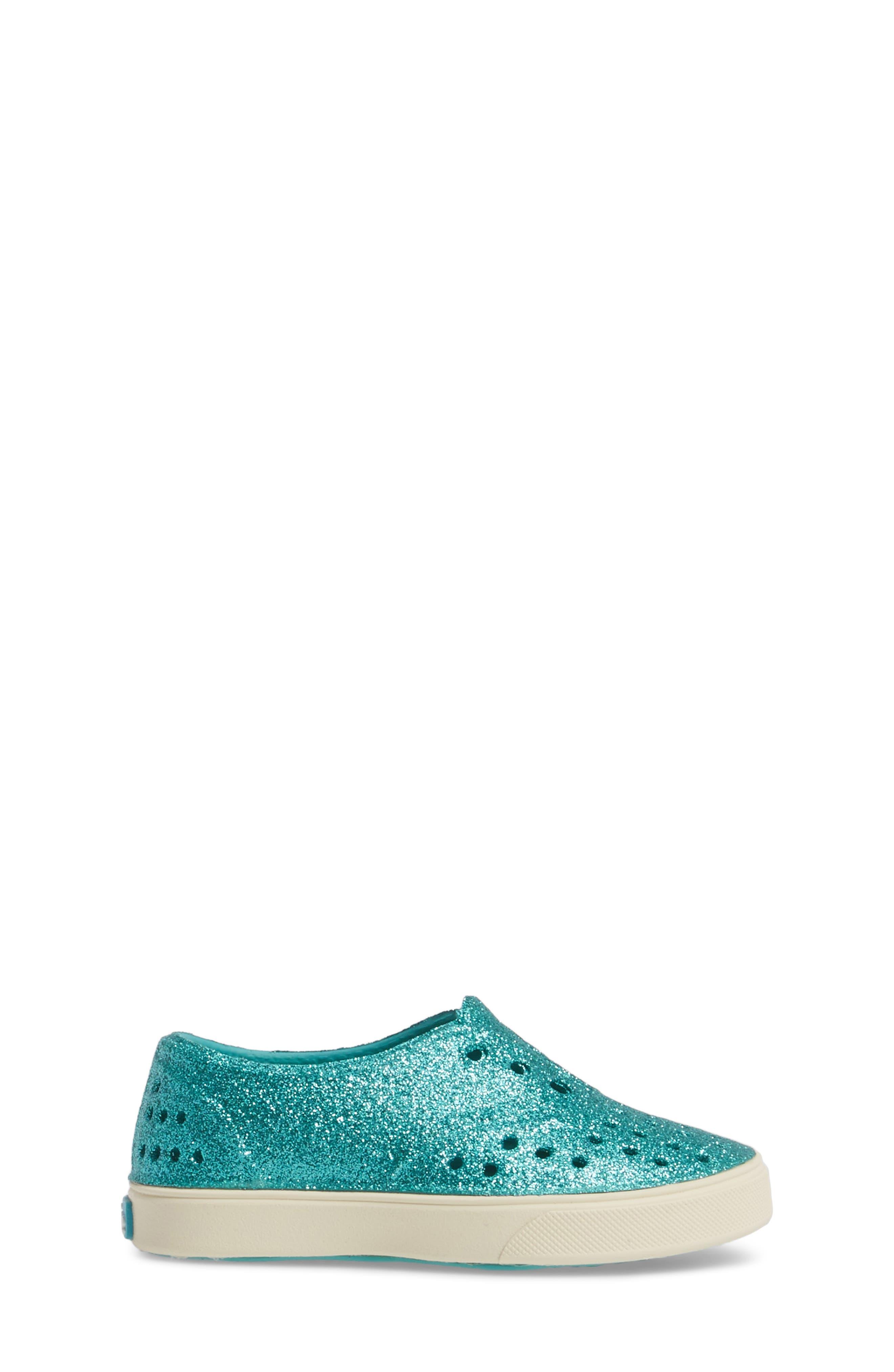 Alternate Image 3  - Native Shoes Miller Sparkly Perforated Slip-On (Walker, Toddler & Little Kid)