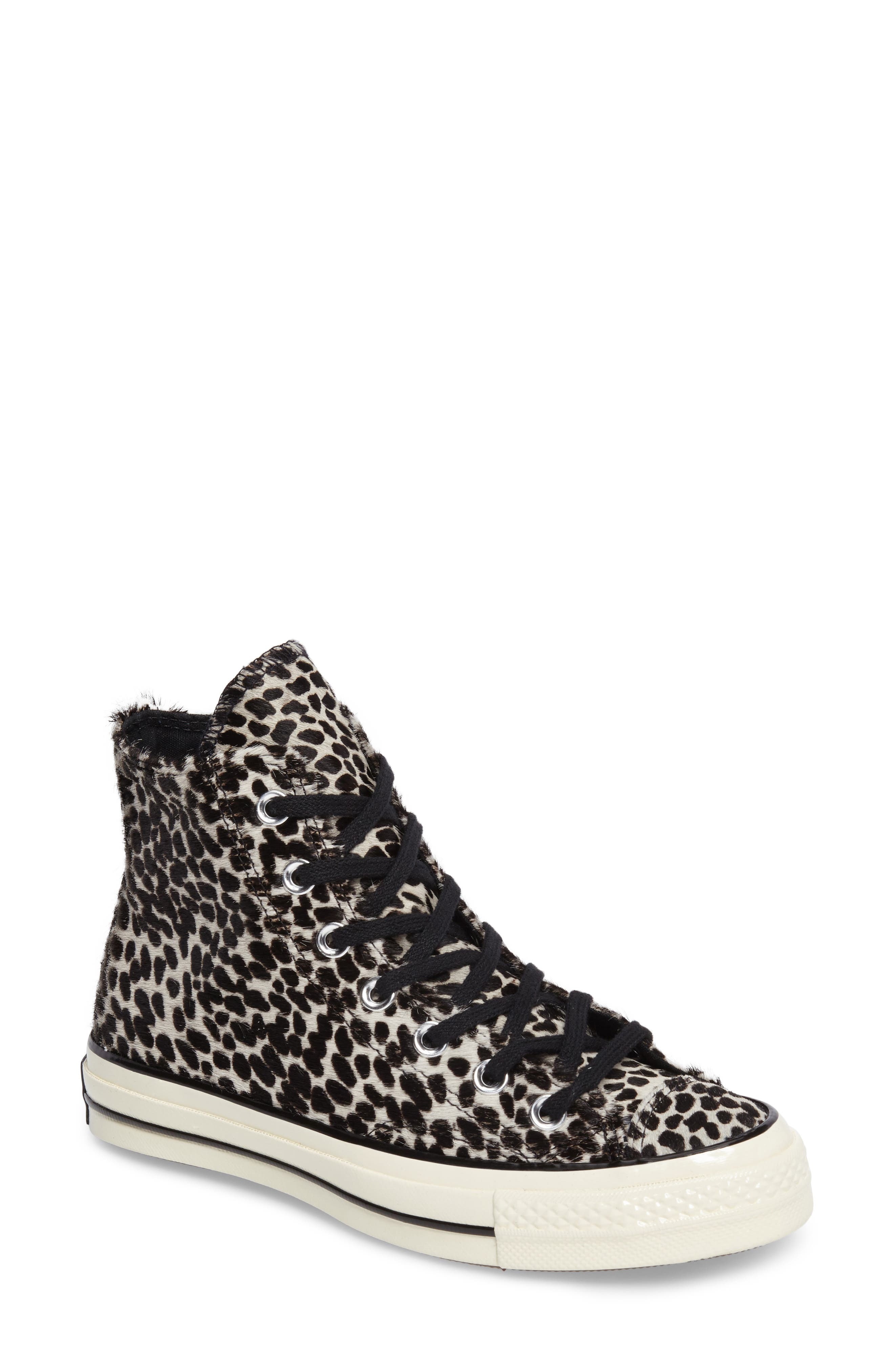 Alternate Image 1 Selected - Converse Chuck Taylor® All Star® 70 Genuine Calf Hair High Top Sneaker (Women)