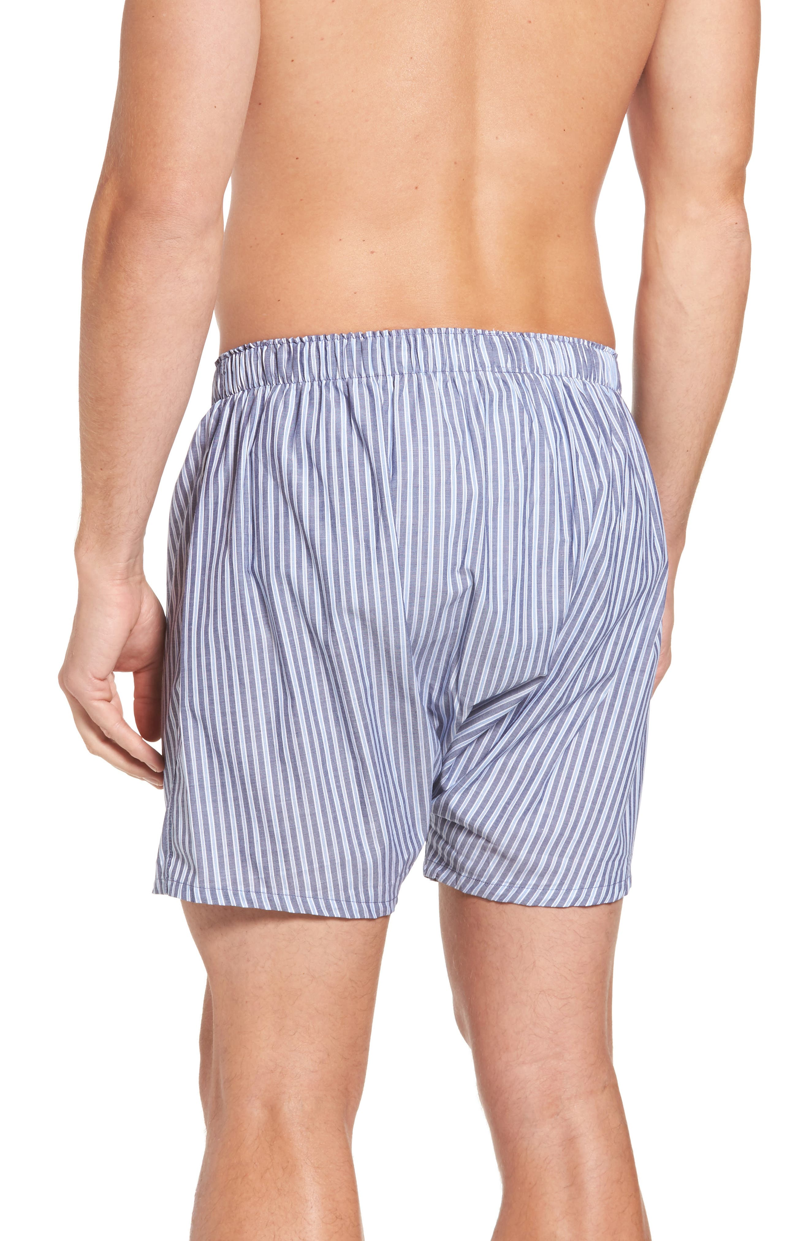 Alternate Image 3  - Polo Ralph Lauren Assorted 3-Pack Woven Cotton Boxers