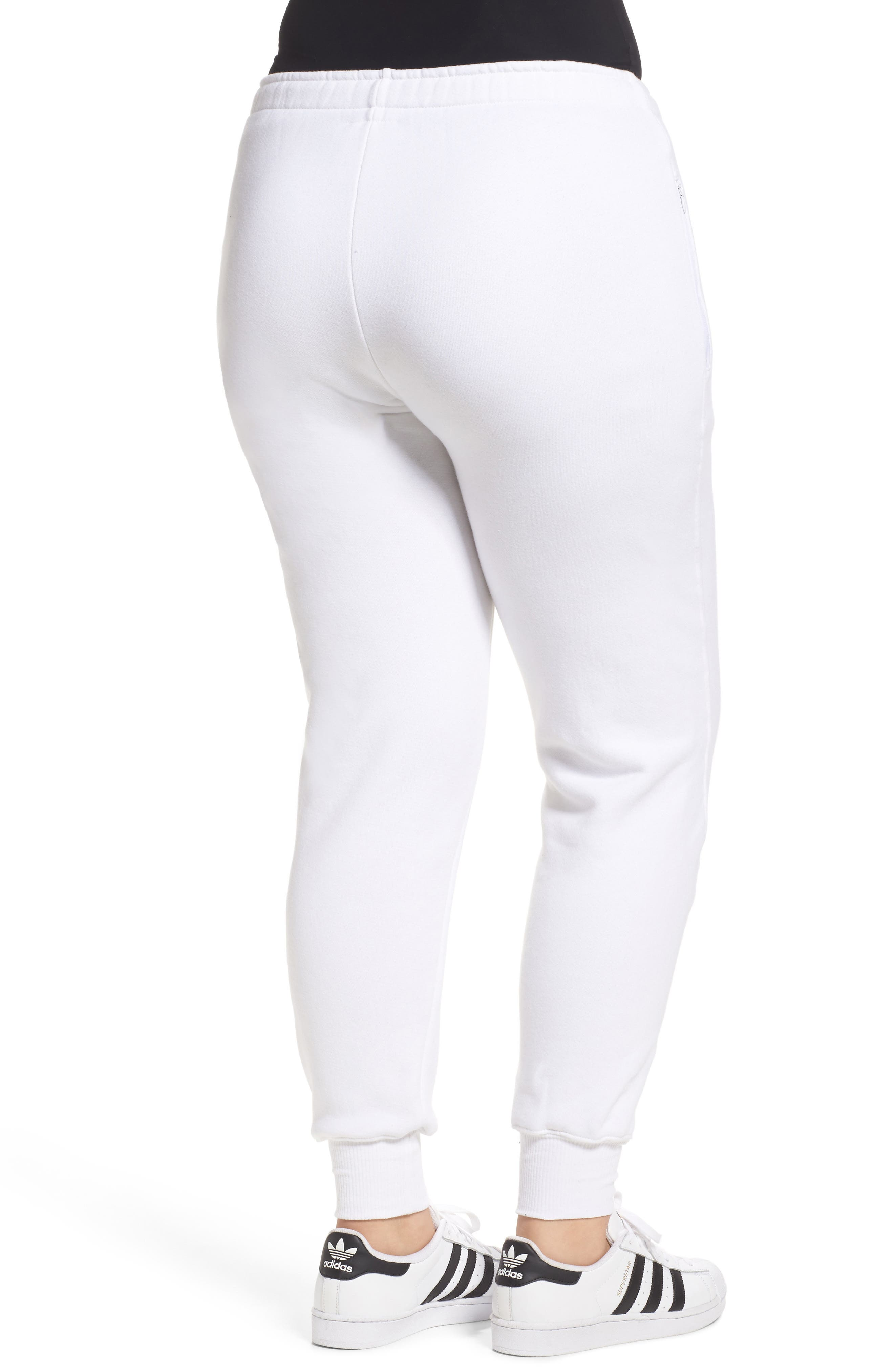 Good Sweats The Twisted Seam Pants,                             Alternate thumbnail 6, color,                             Off White