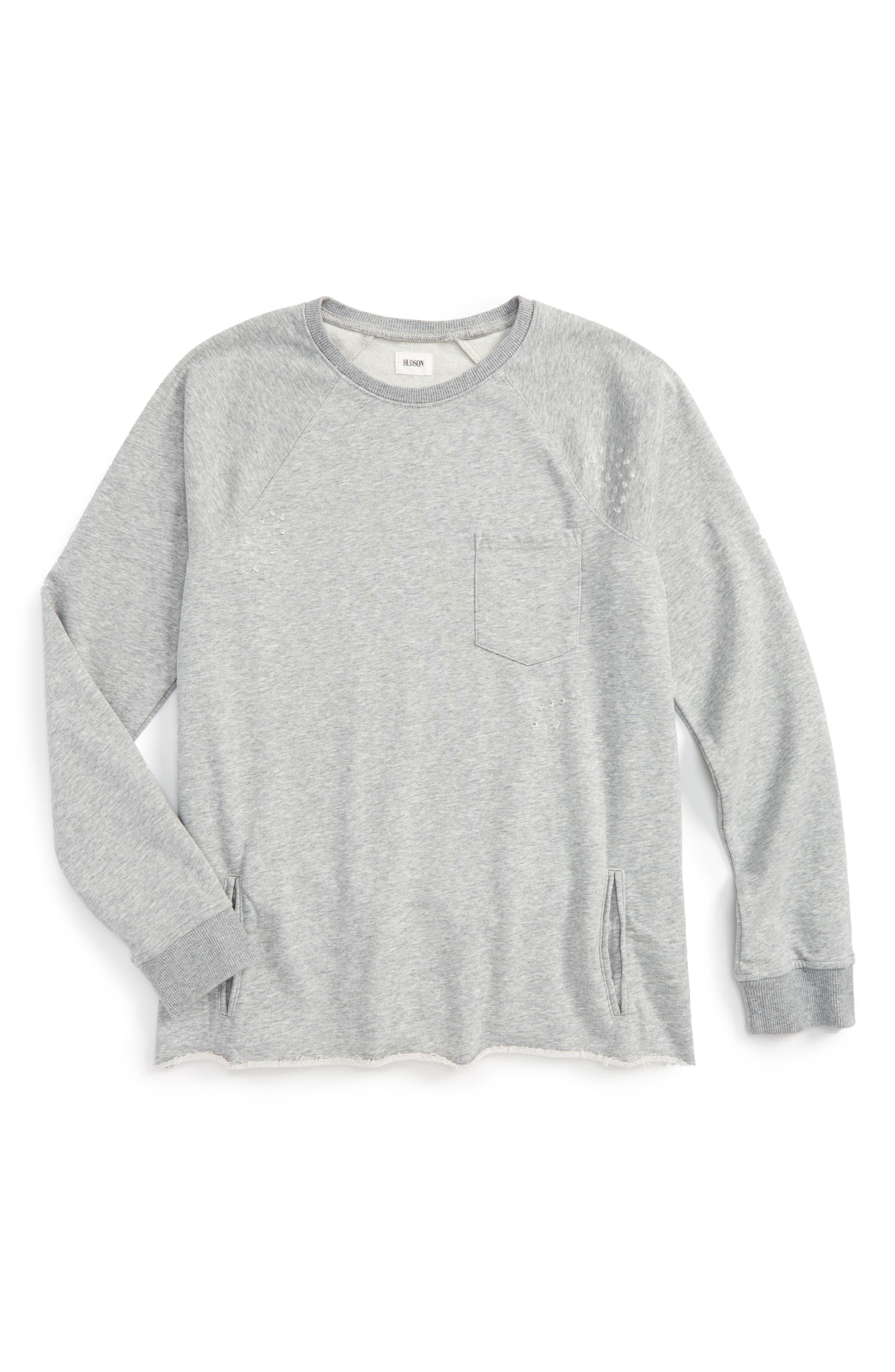 Hudson Raglan Pullover Sweater (Big Boys)