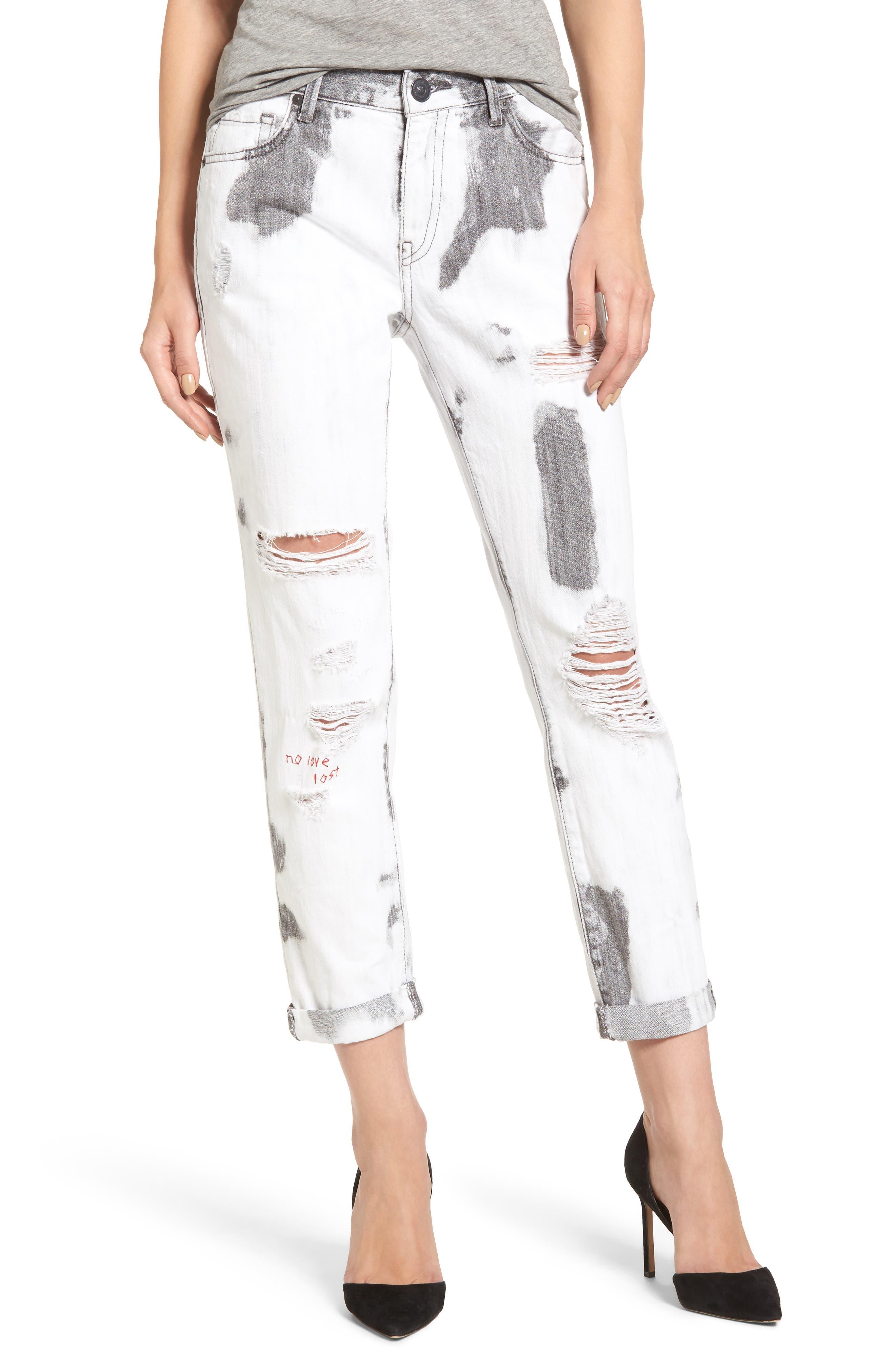 Main Image - True Religion Brand Jeans Cameron Boyfriend Jeans (Immortal Outsider)