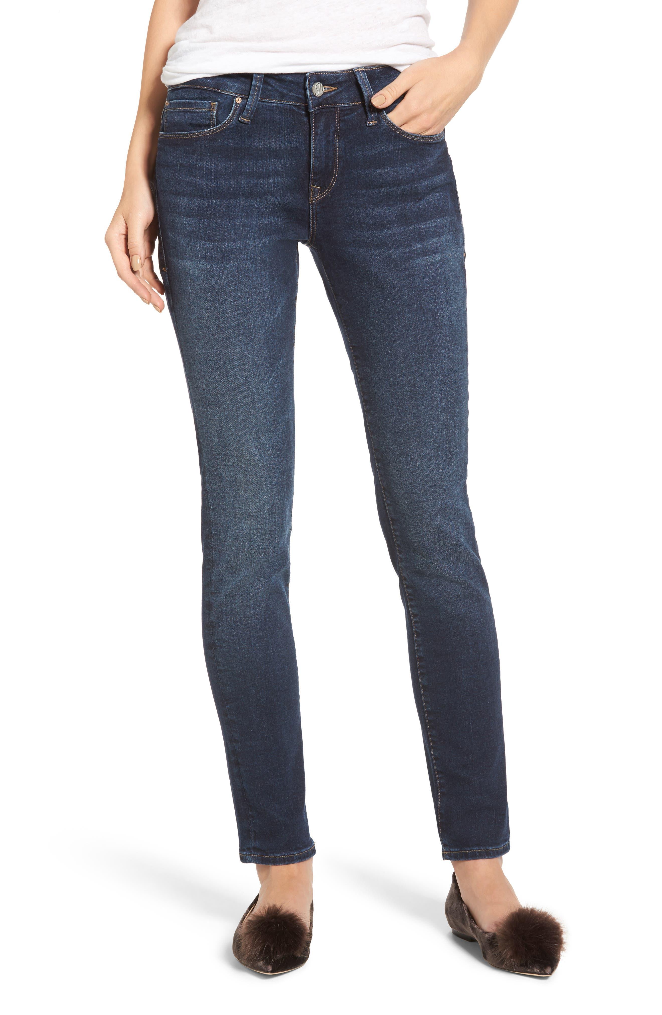 MAVI JEANS Alexa Stretch Ankle Skinny Jeans