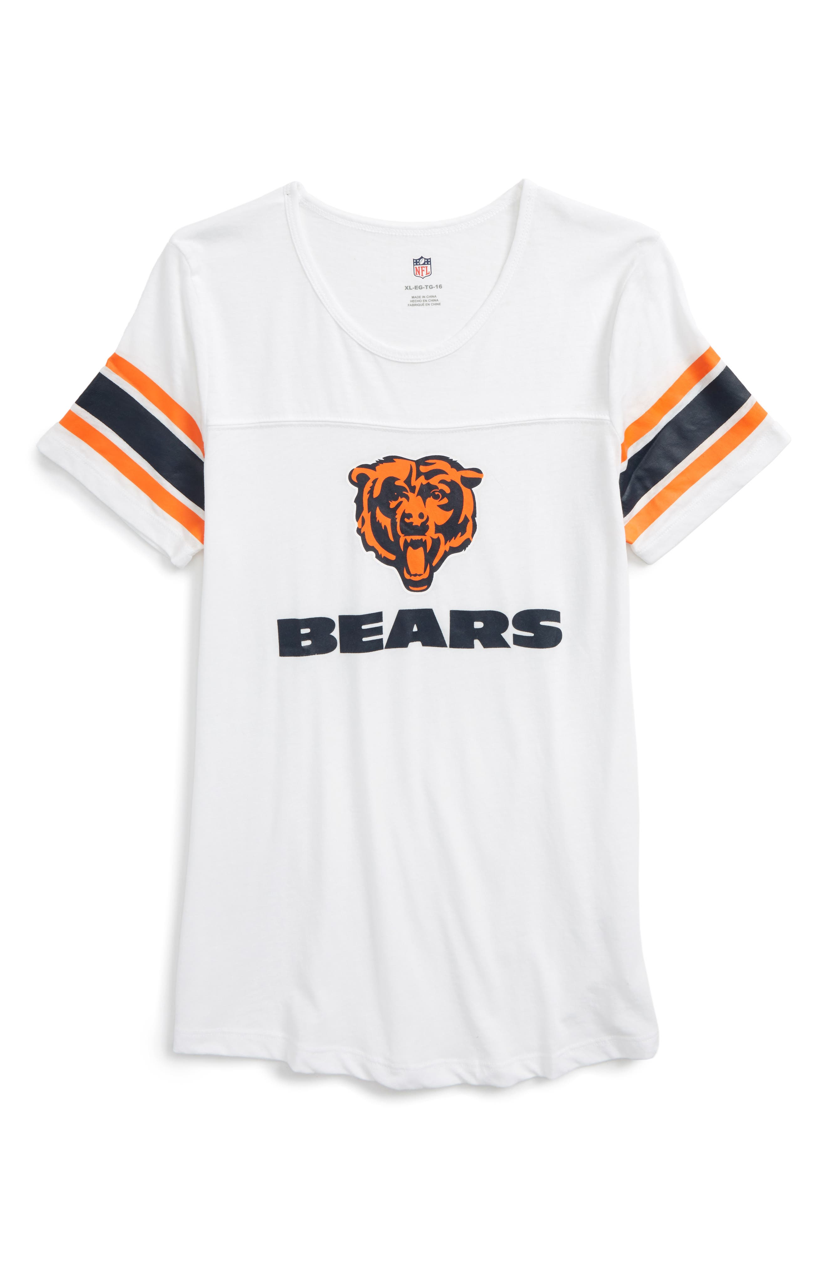 Alternate Image 1 Selected - Outerstuff NFL Chicago Bears Team Pride Tee (Big Girls)