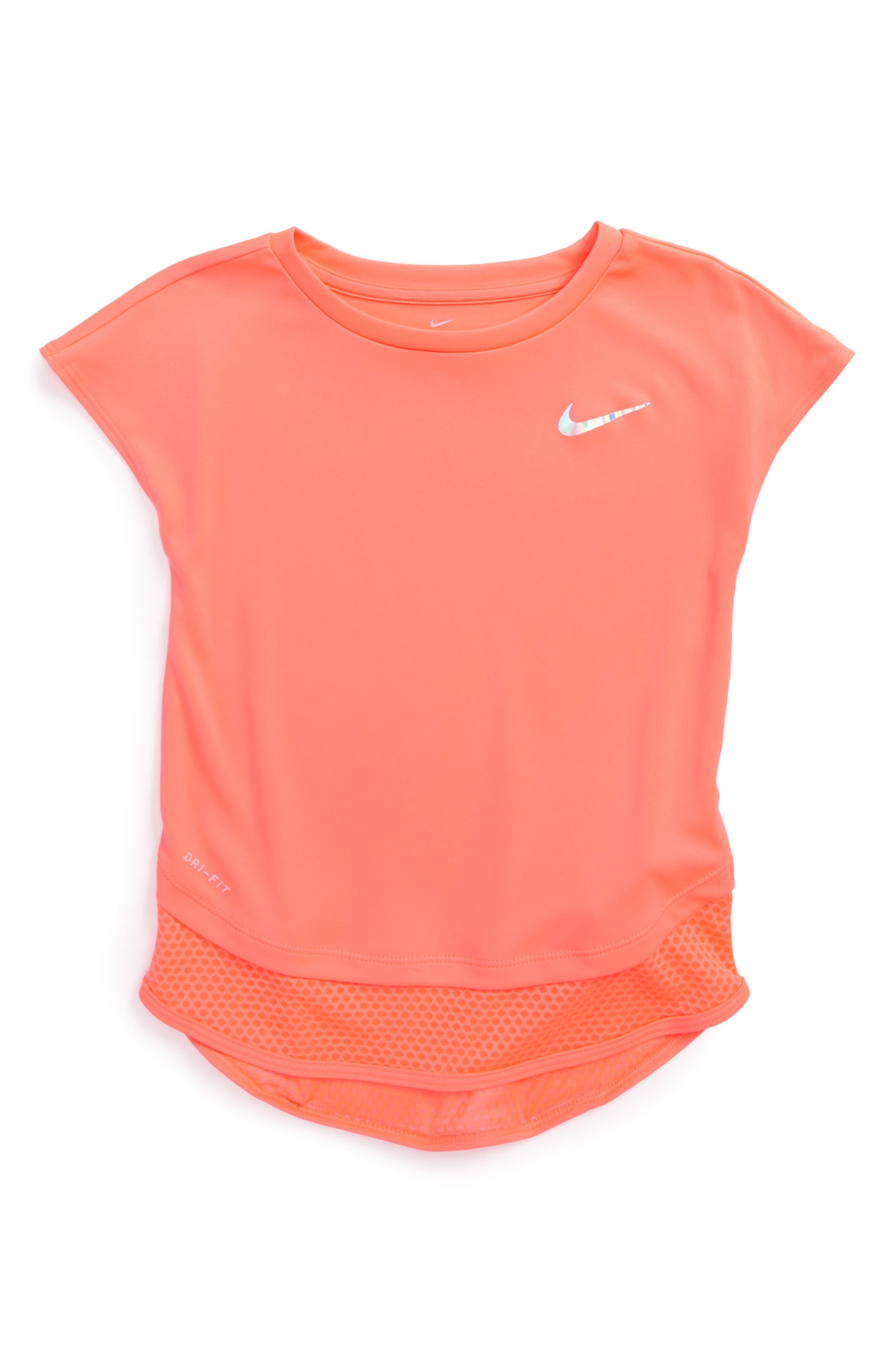 Main Image - Nike Dry Modern Tunic (Toddler Girls & Little Girls)