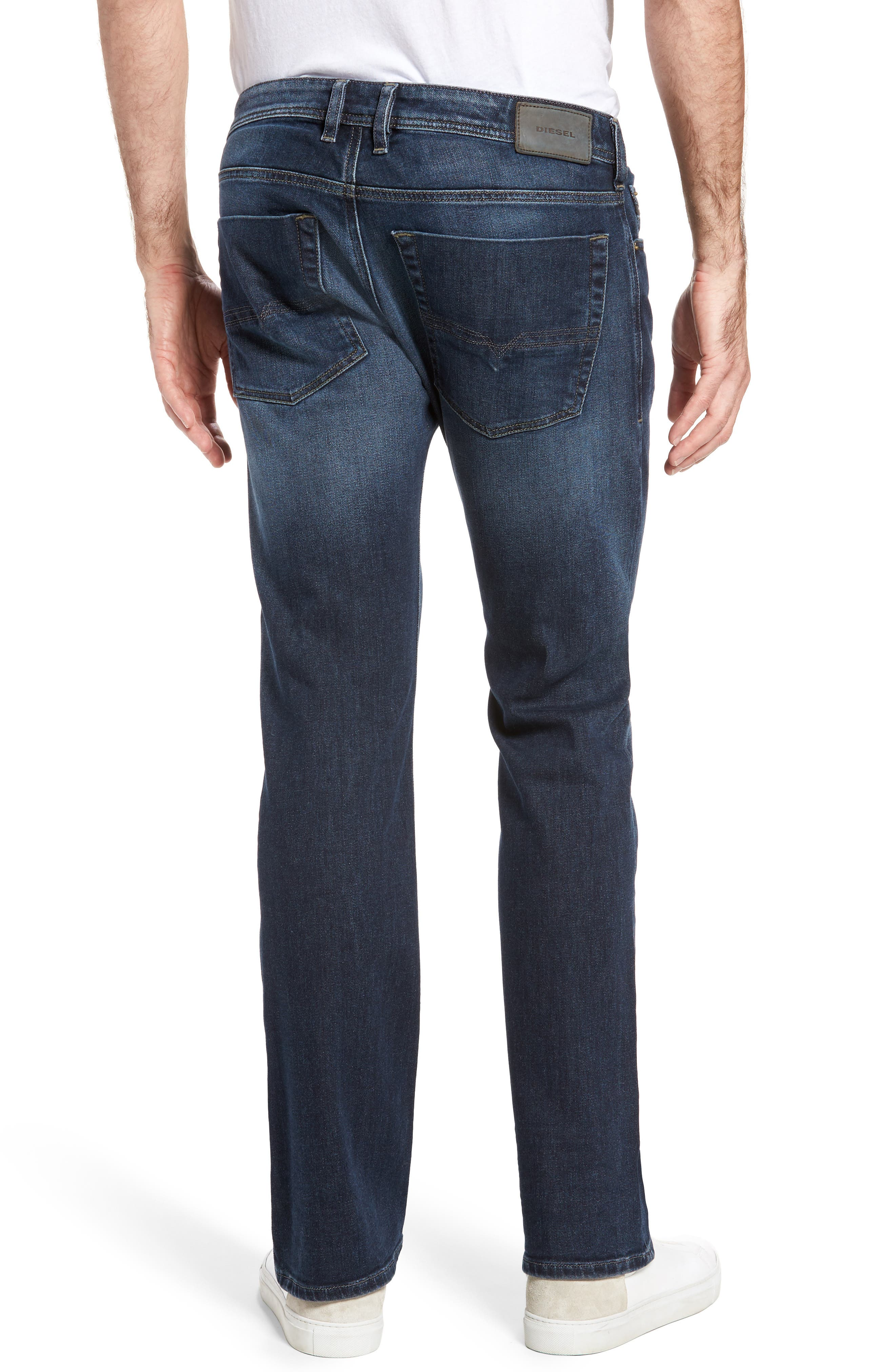 Zatiny Bootcut Jeans,                             Alternate thumbnail 2, color,                             Denim