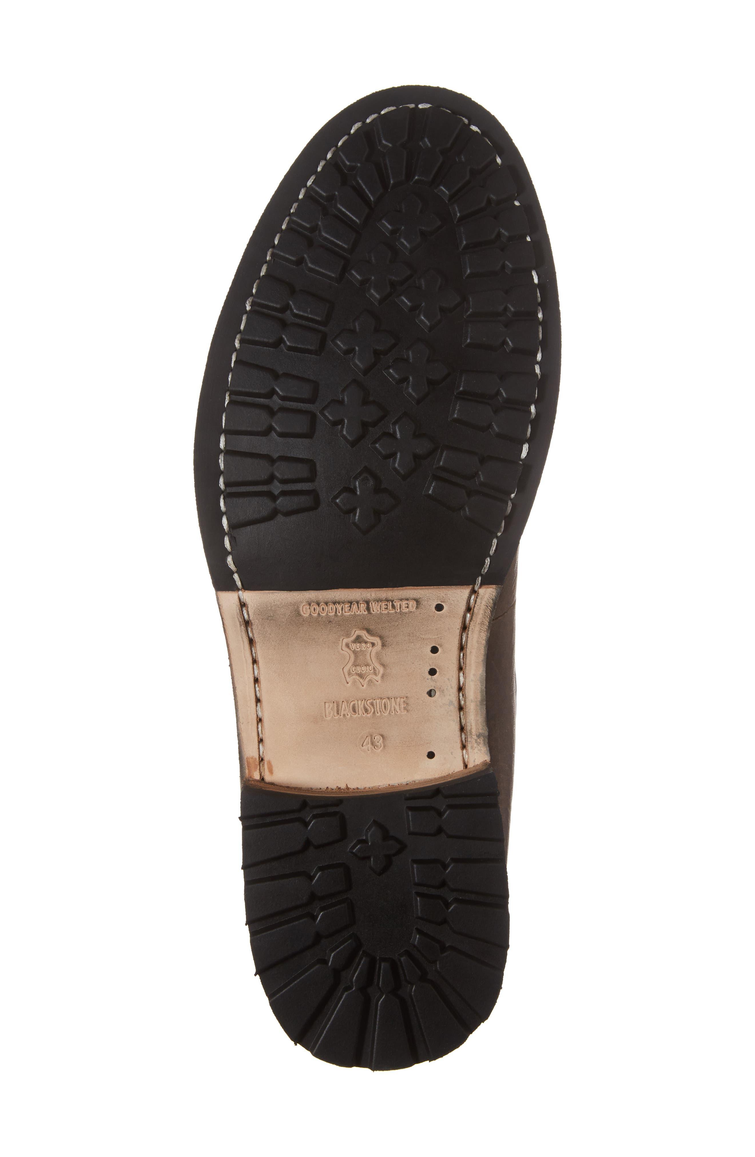 'GM 09' Plain Toe Boot,                             Alternate thumbnail 6, color,                             Gull Leather