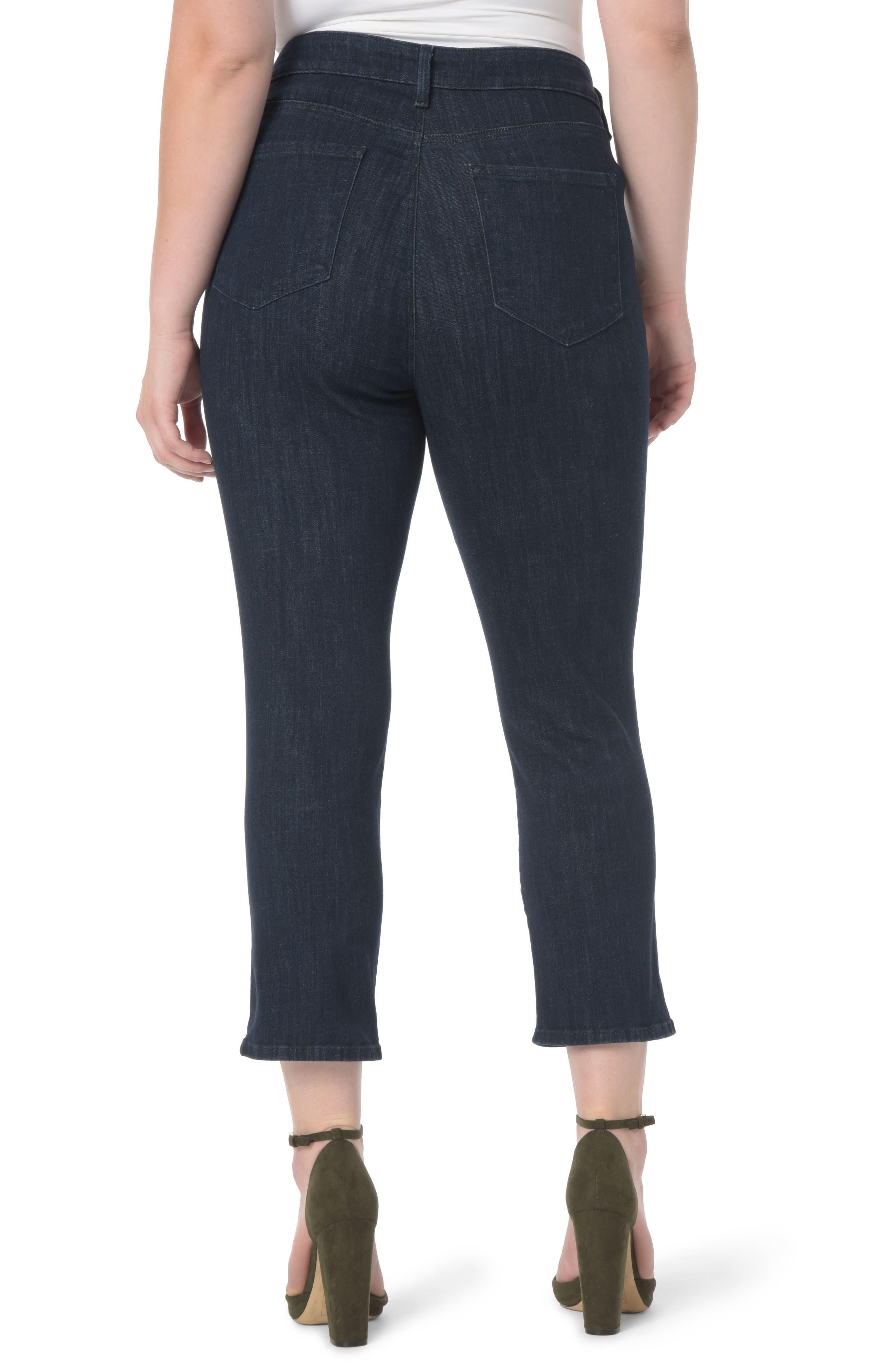 Marilyn Stretch Straight Leg Crop Jeans,                             Alternate thumbnail 2, color,                             Rambard